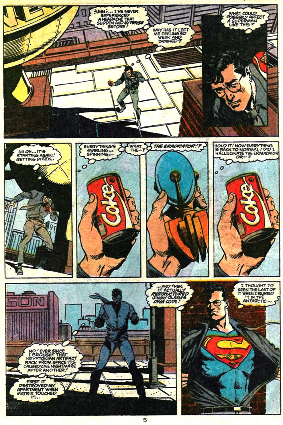 Read online Adventures of Superman (1987) comic -  Issue #460 - 6