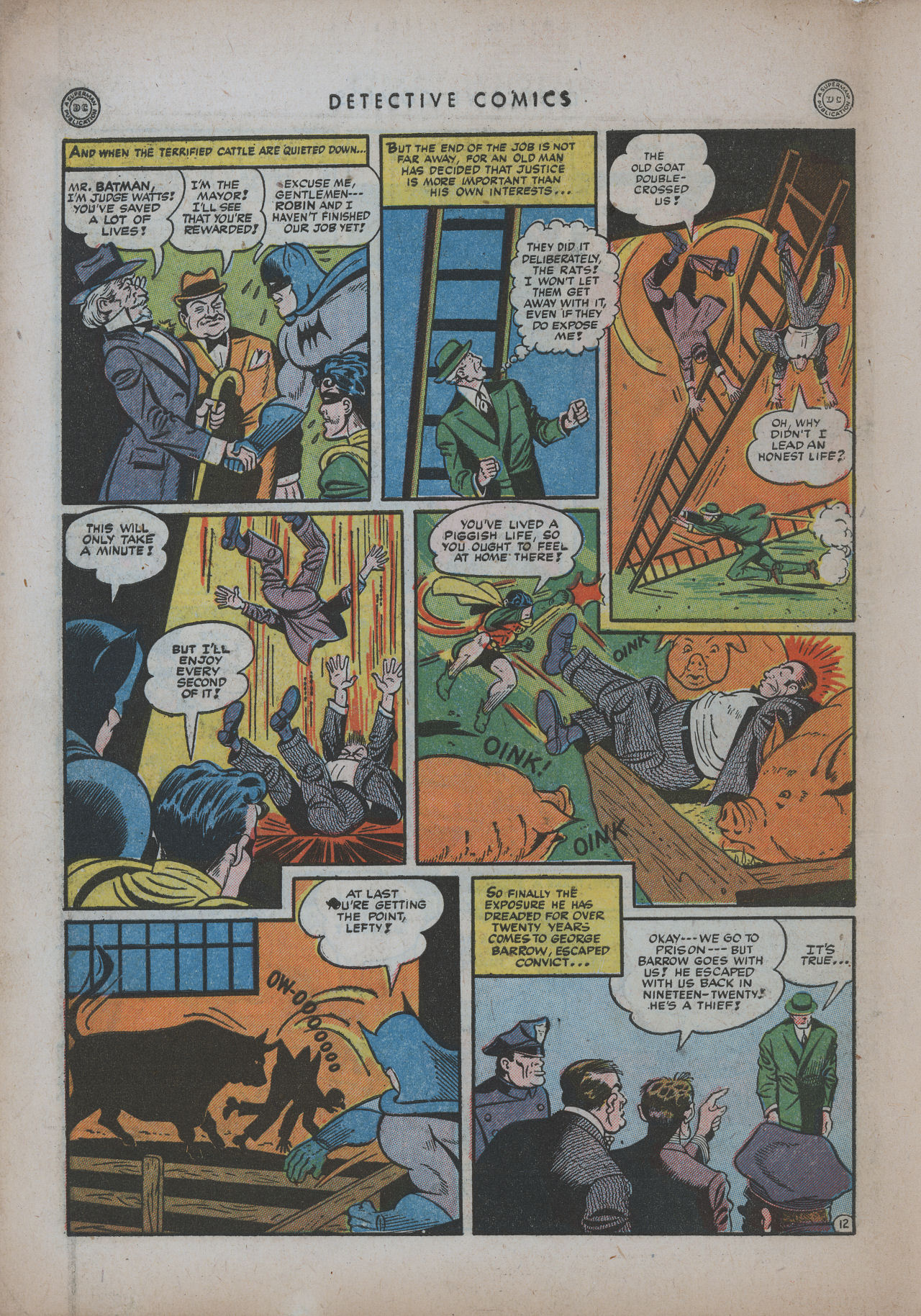 Read online Detective Comics (1937) comic -  Issue #94 - 14