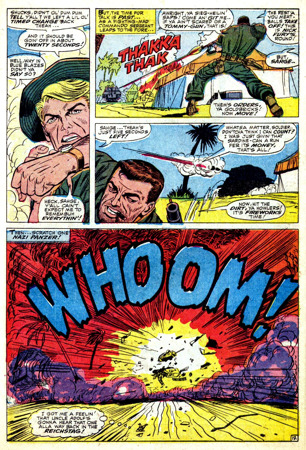 Read online Sgt. Fury comic -  Issue #37 - 27