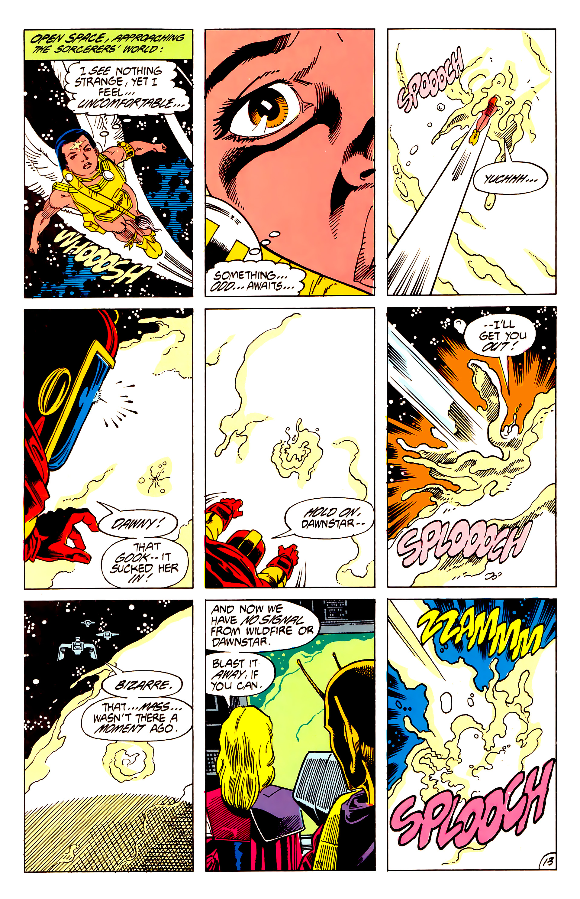 Legion of Super-Heroes (1984) 62 Page 13
