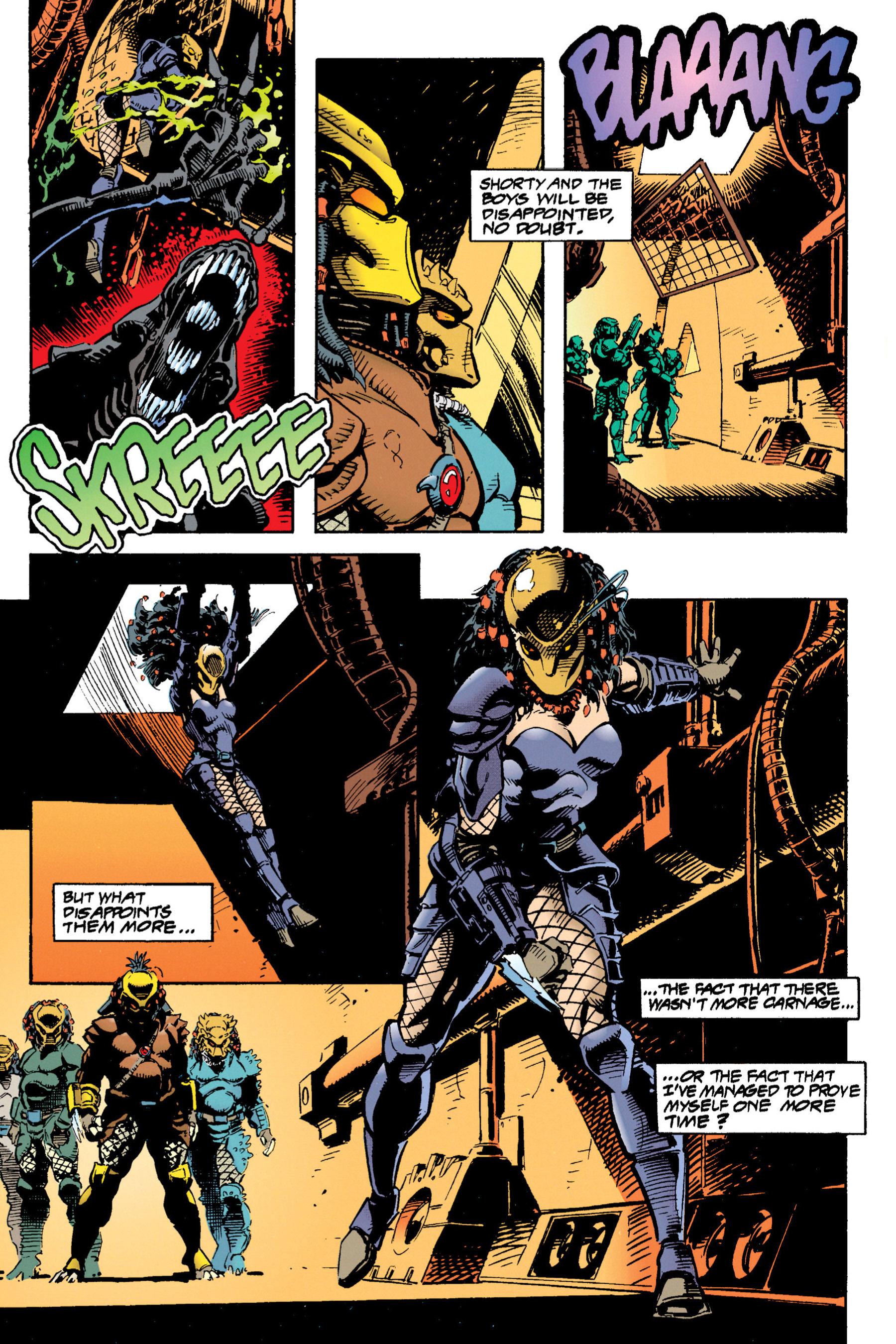 Read online Aliens vs. Predator Omnibus comic -  Issue # _TPB 1 Part 3 - 38