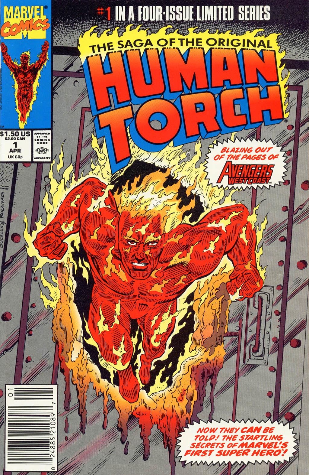 The Saga of the Original Human Torch 1 Page 1