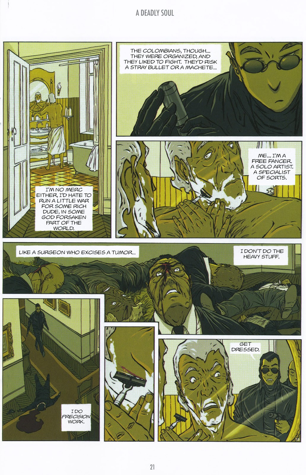 Read online The Killer comic -  Issue #9 - 21