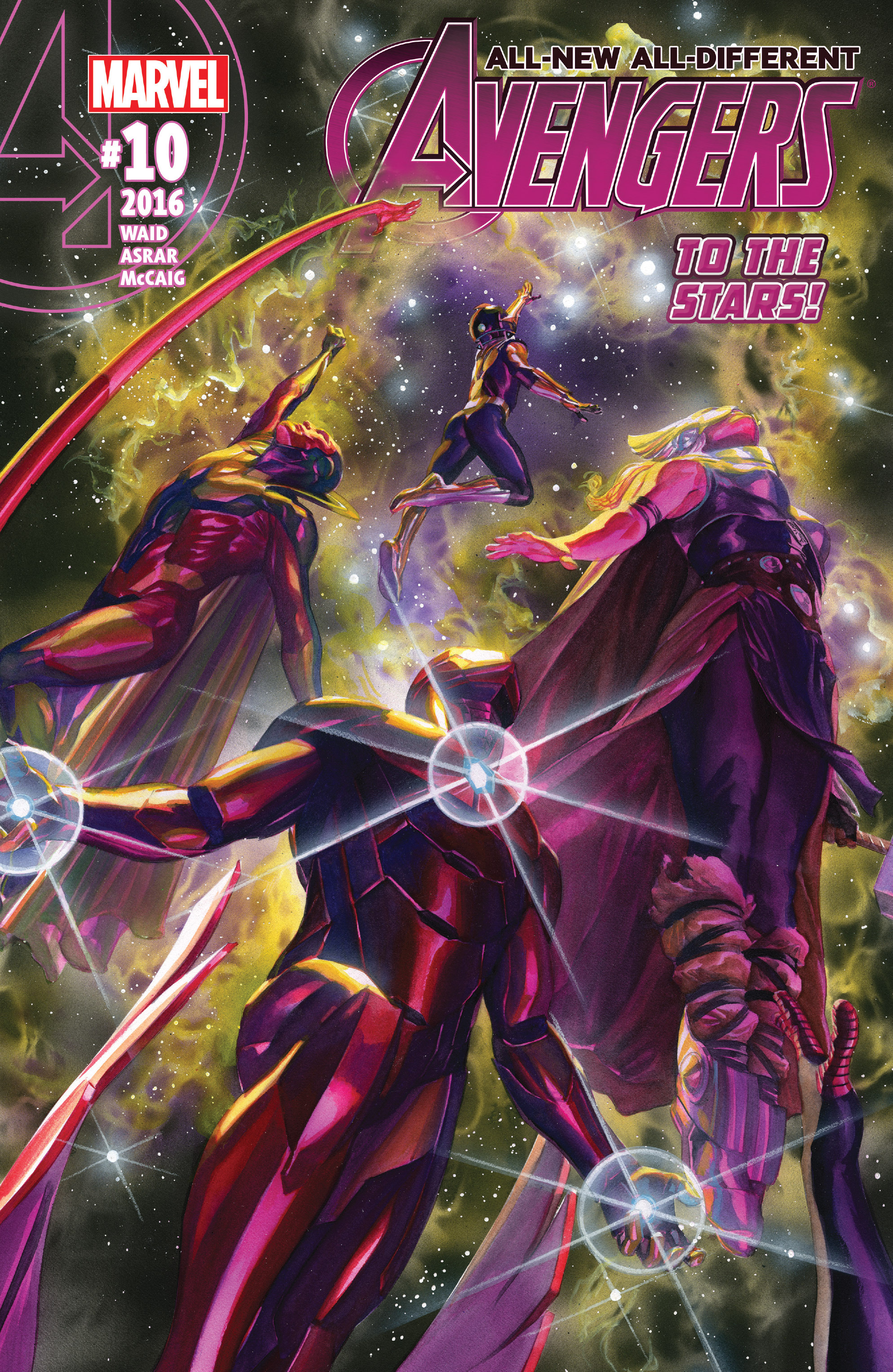 Read online All-New, All-Different Avengers comic -  Issue #10 - 1