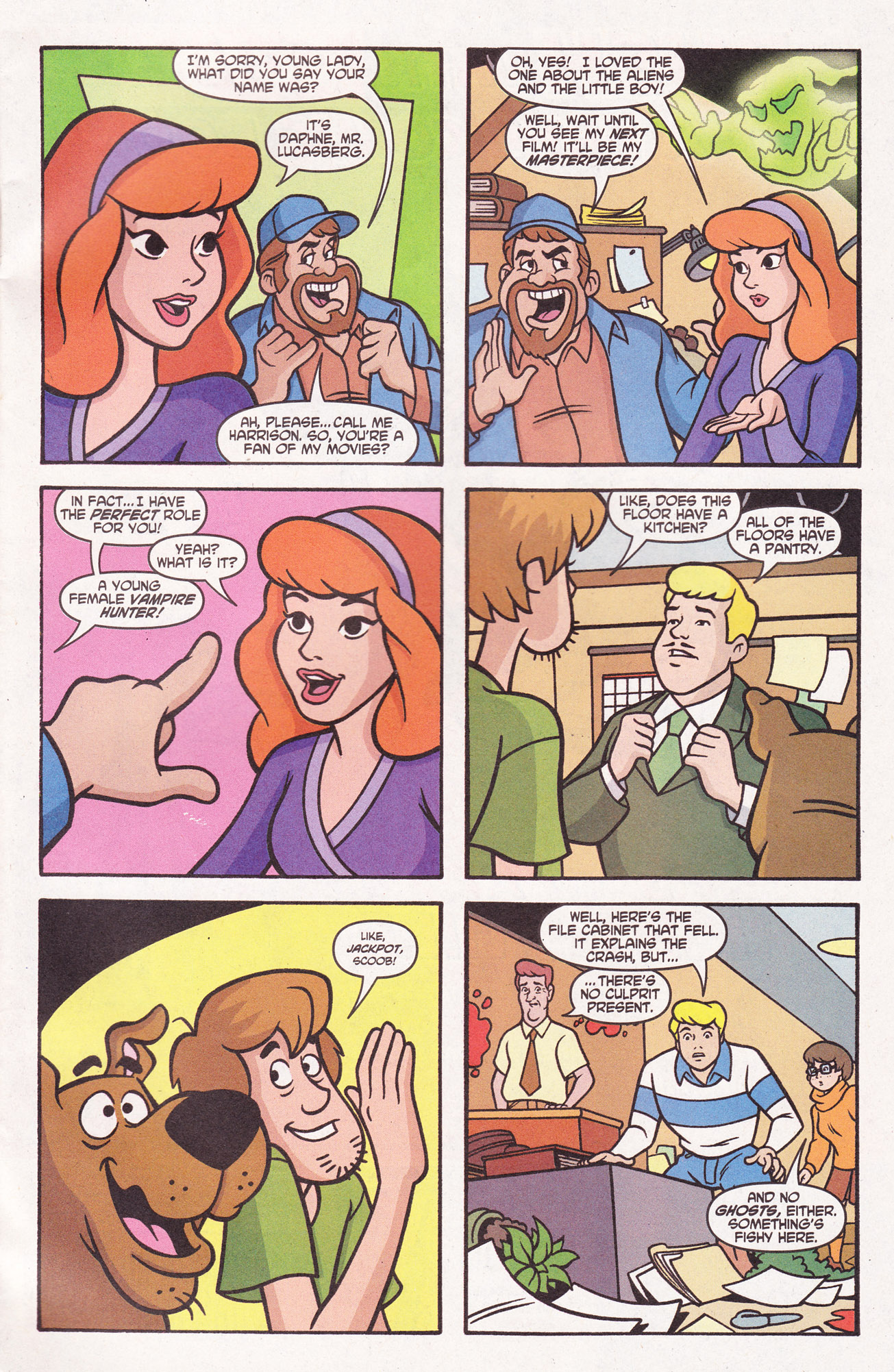 Read online Scooby-Doo (1997) comic -  Issue #110 - 29
