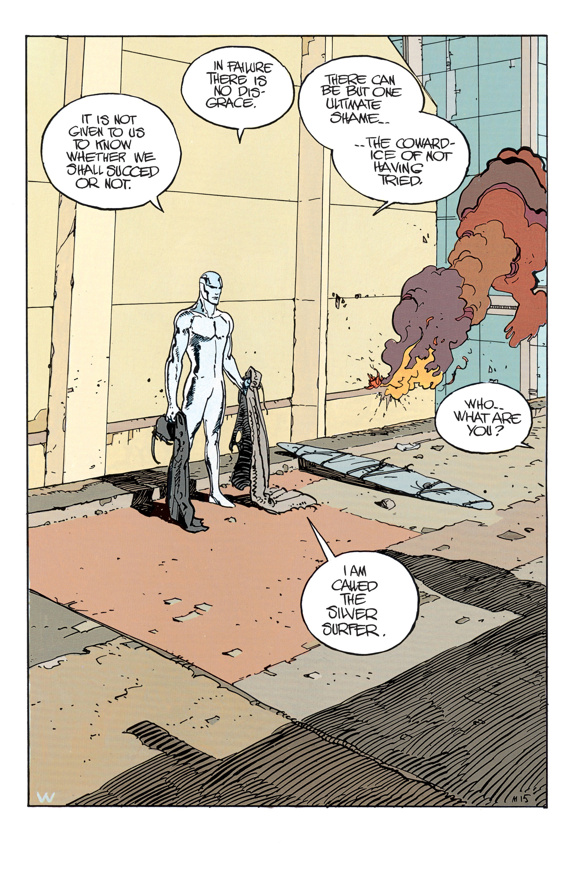 Read online Silver Surfer (1988) comic -  Issue #1 - 18