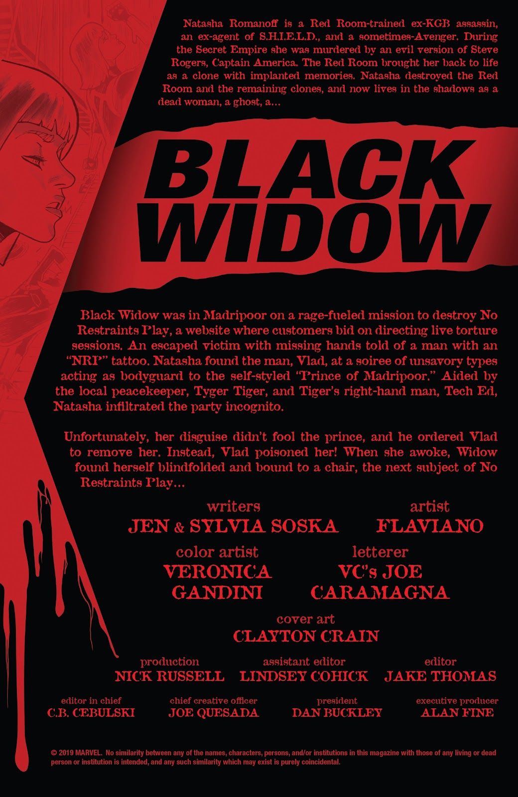 Read online Black Widow (2019) comic -  Issue #4 - 2