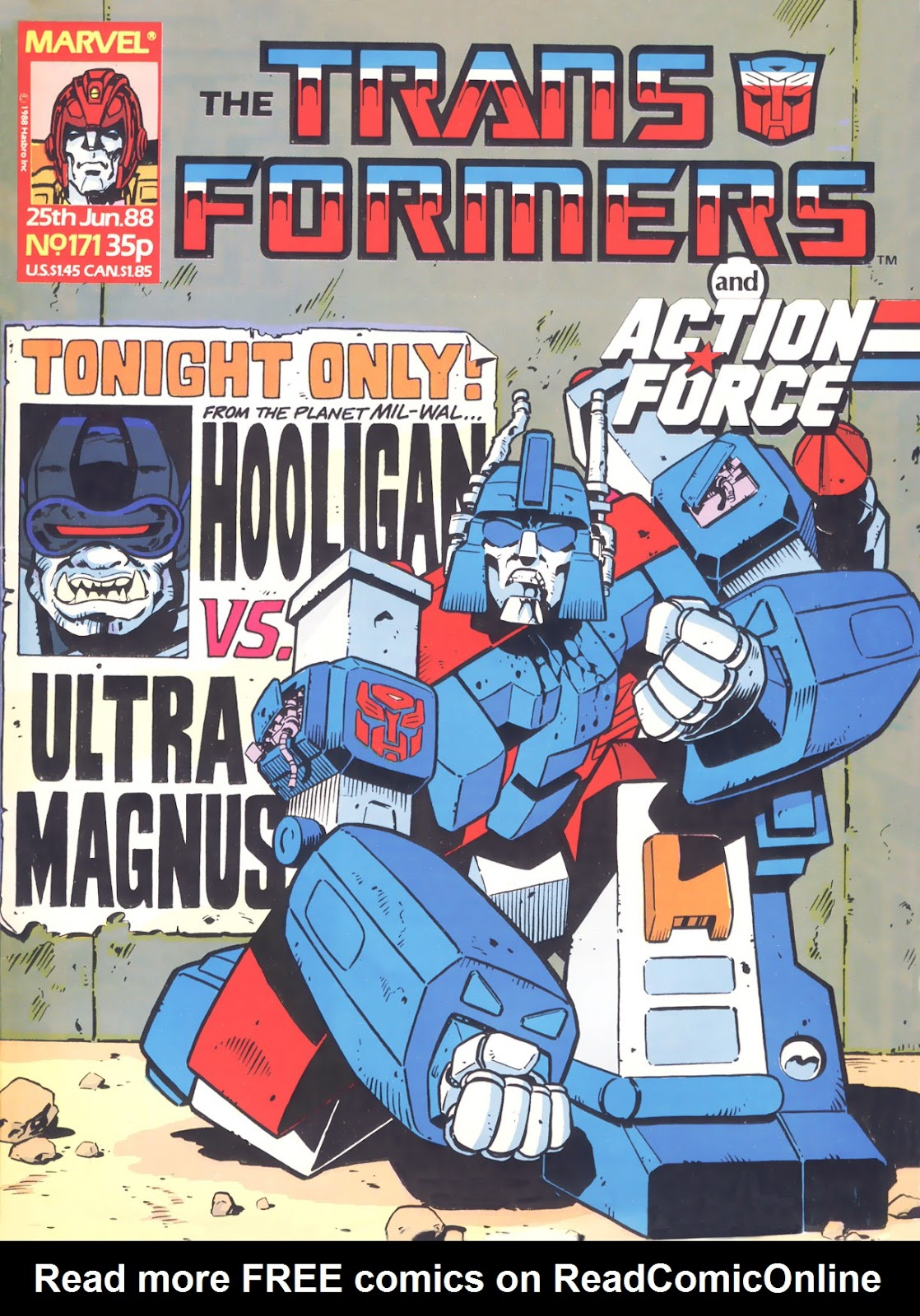 The Transformers (UK) 171 Page 1