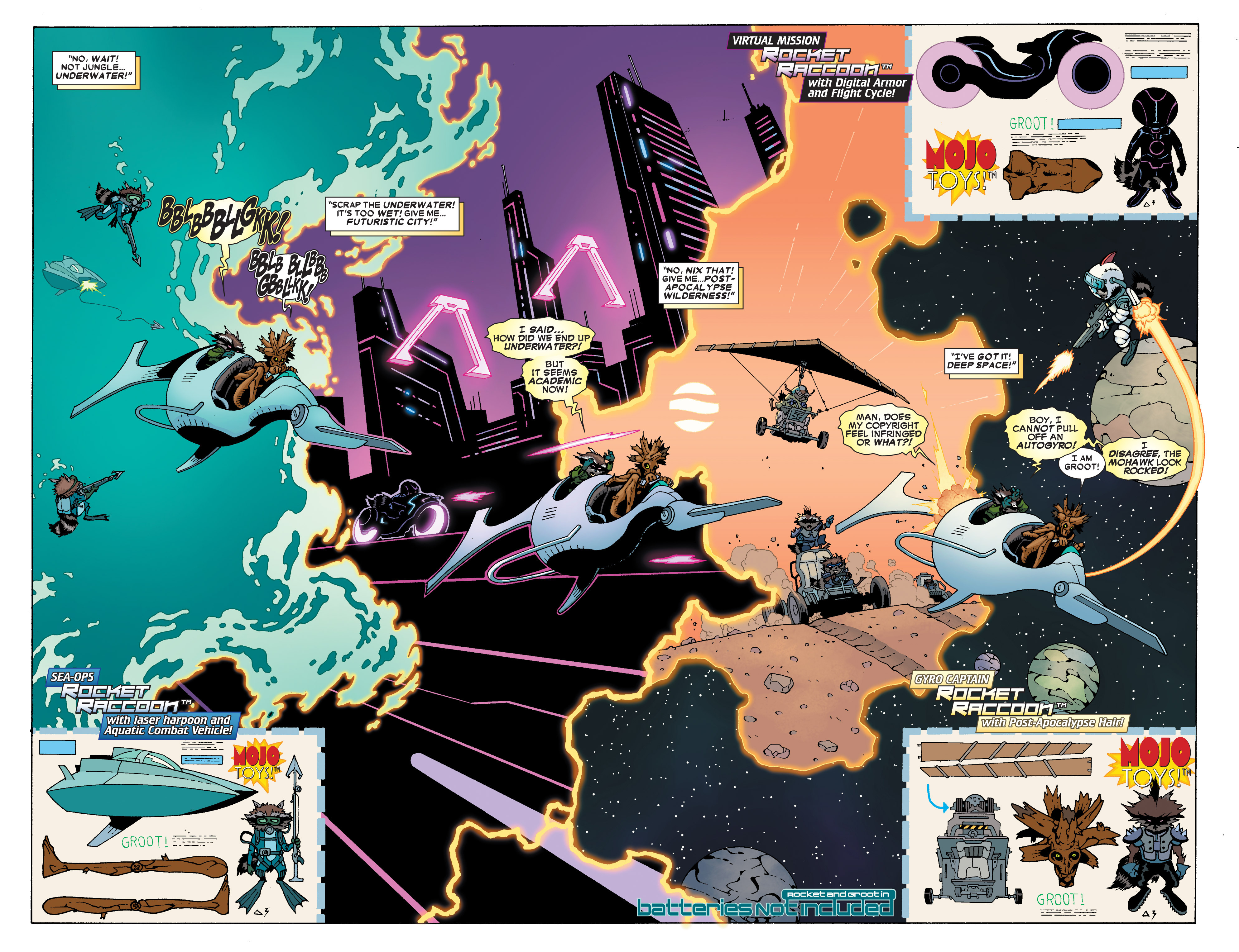 Read online Annihilators: Earthfall comic -  Issue #3 - 23