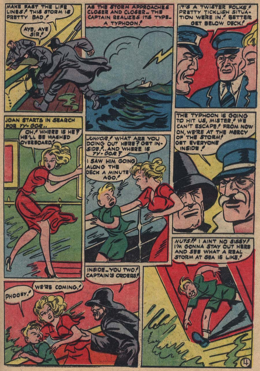 Blue Ribbon Comics (1939) issue 18 - Page 40