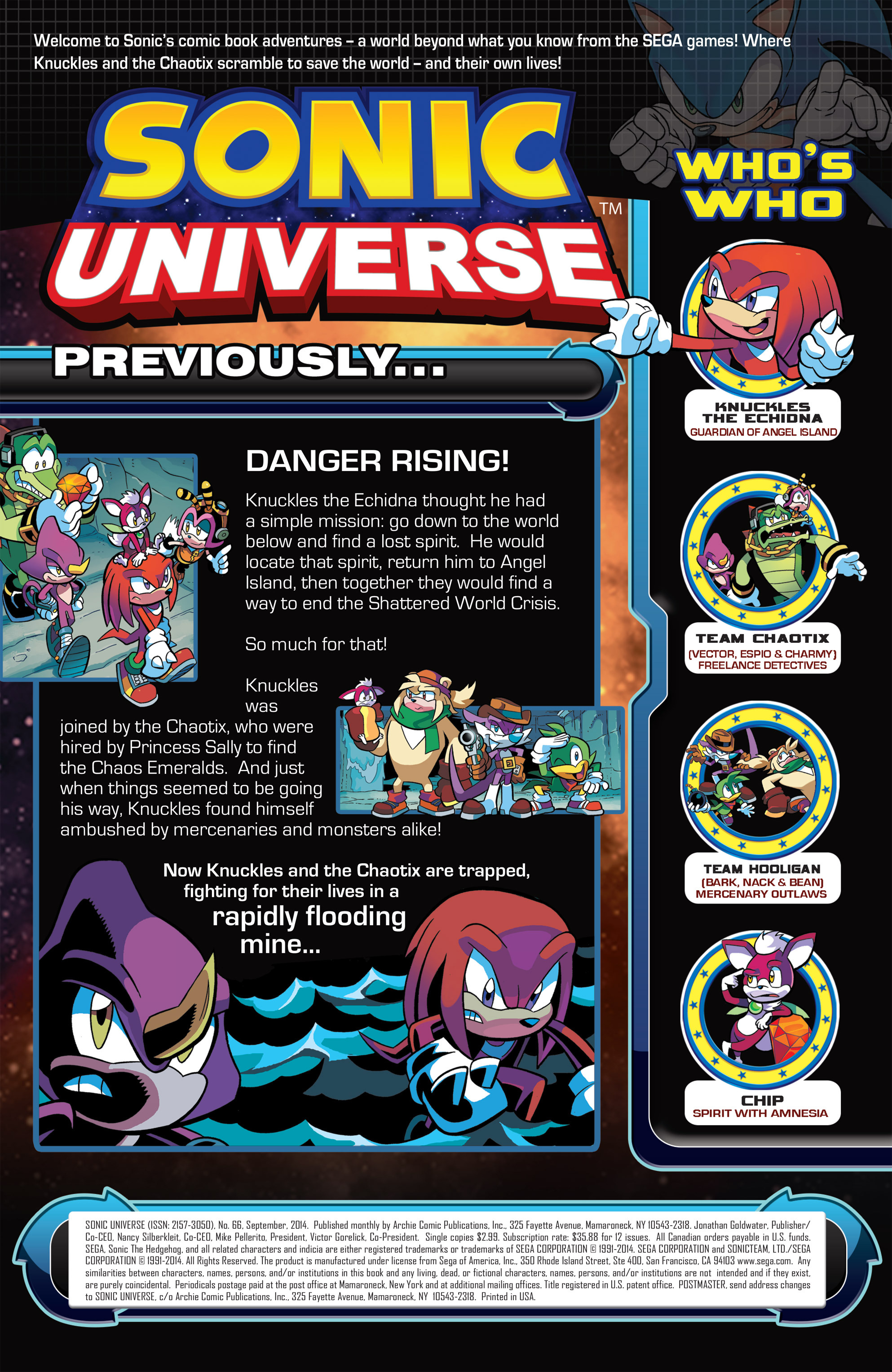 Read online Sonic Universe comic -  Issue #66 - 3