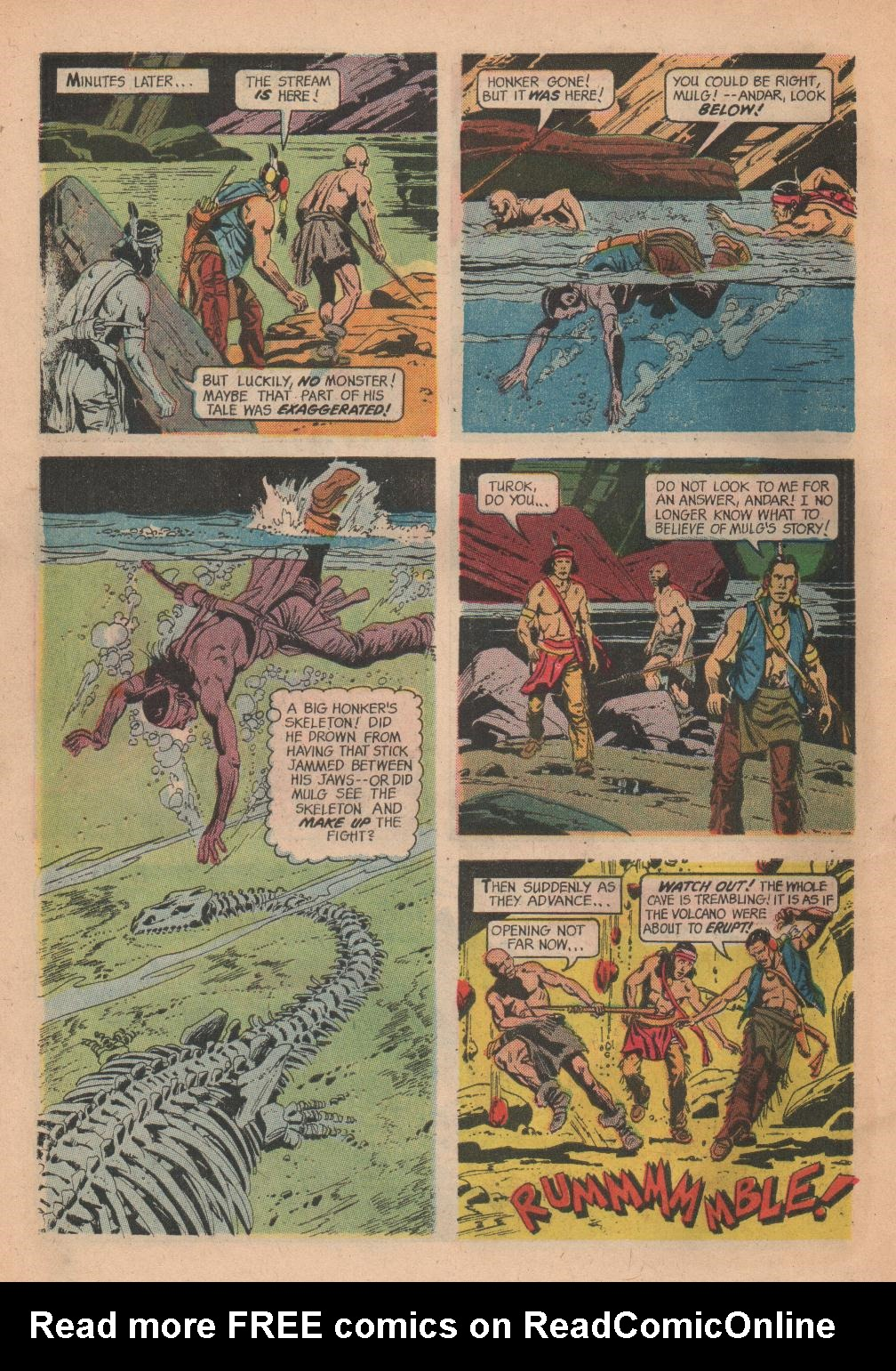 Read online Turok, Son of Stone comic -  Issue #55 - 28