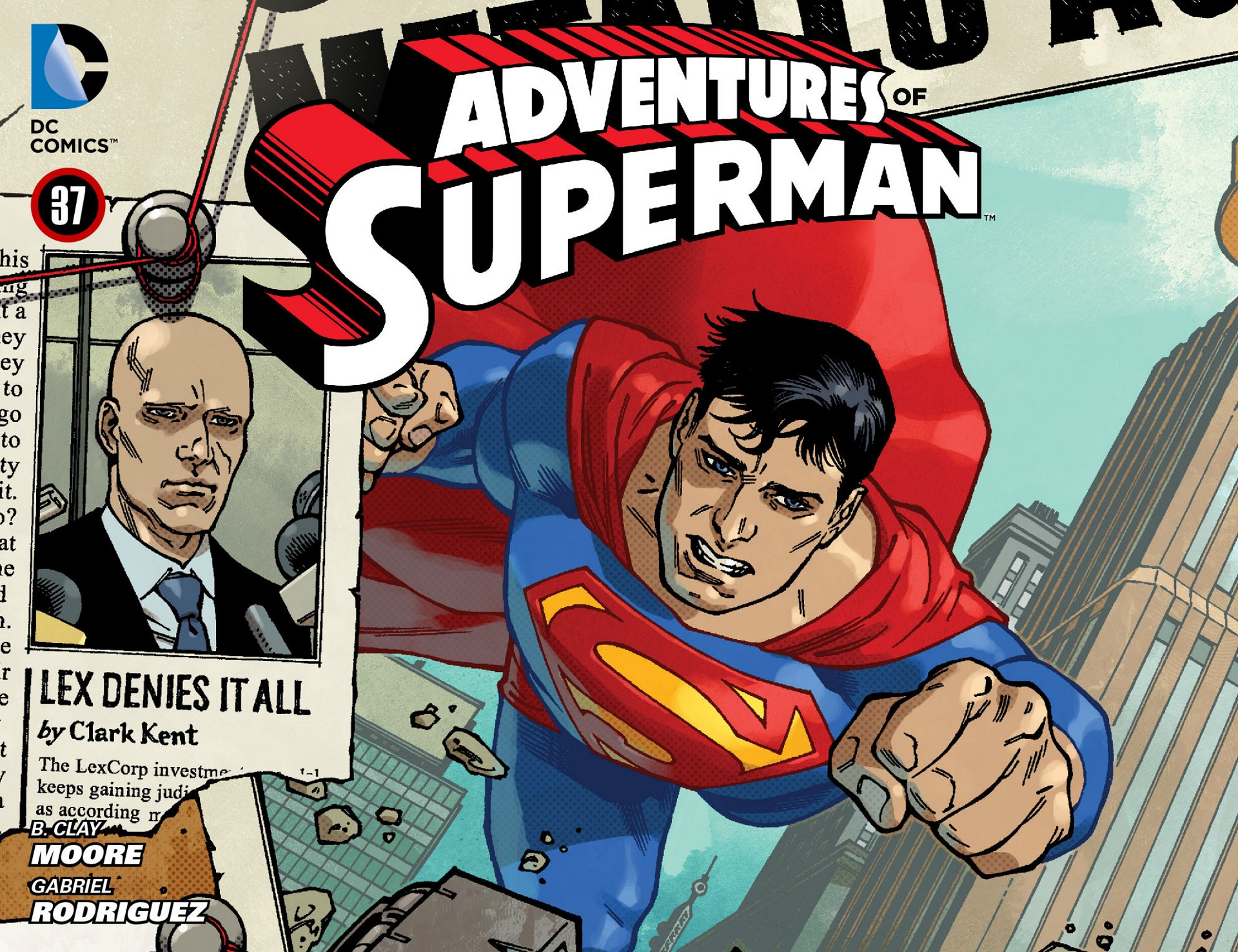 Read online Adventures of Superman [I] comic -  Issue #37 - 1