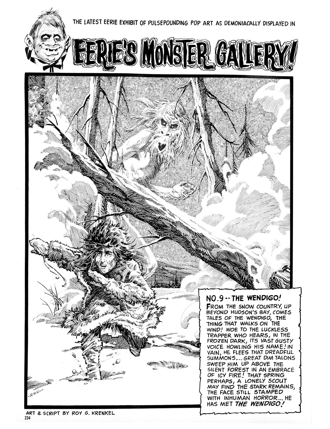 Read online Eerie Archives comic -  Issue # TPB 2 - 235