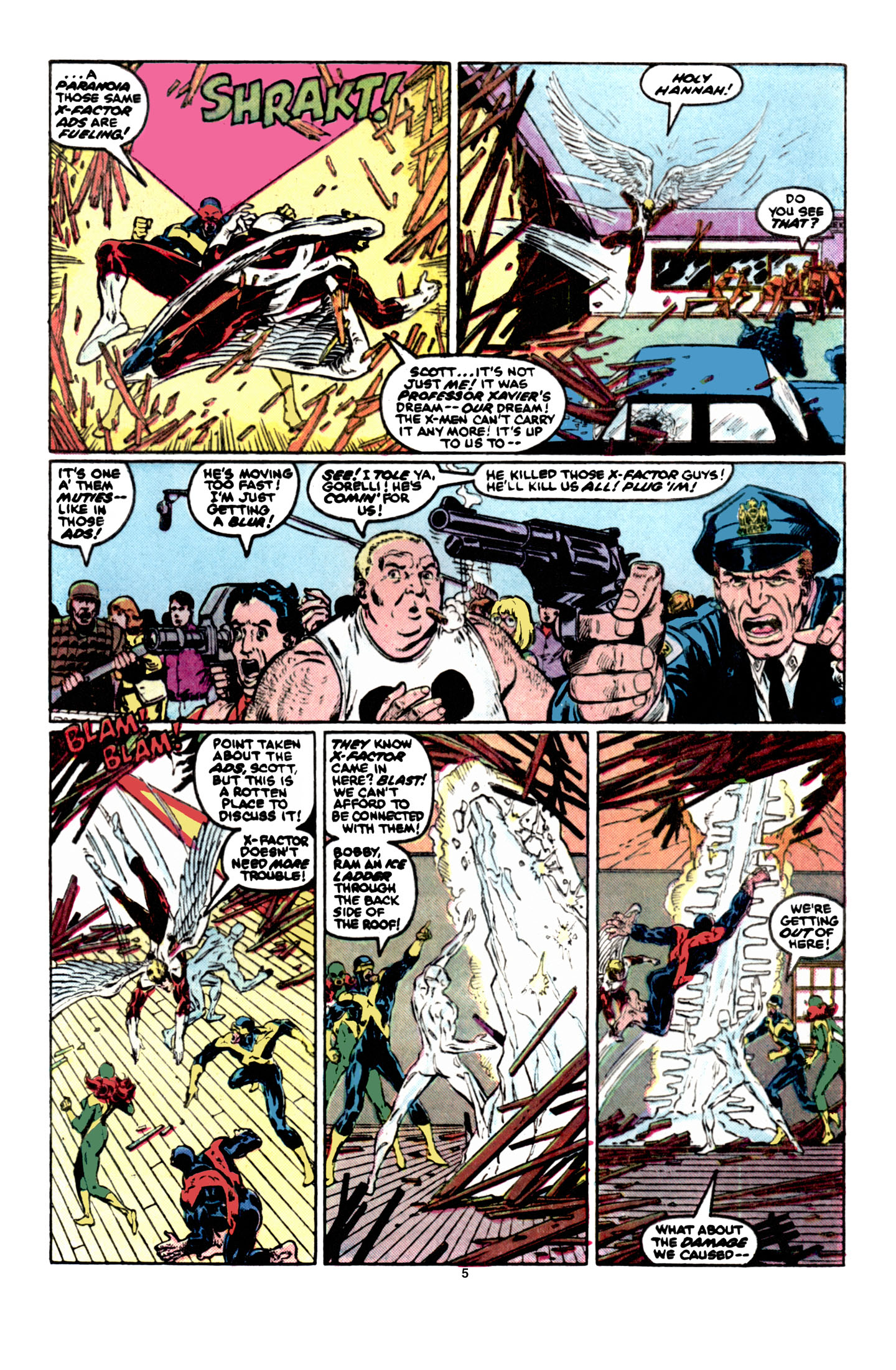 Read online X-Factor (1986) comic -  Issue #6 - 6