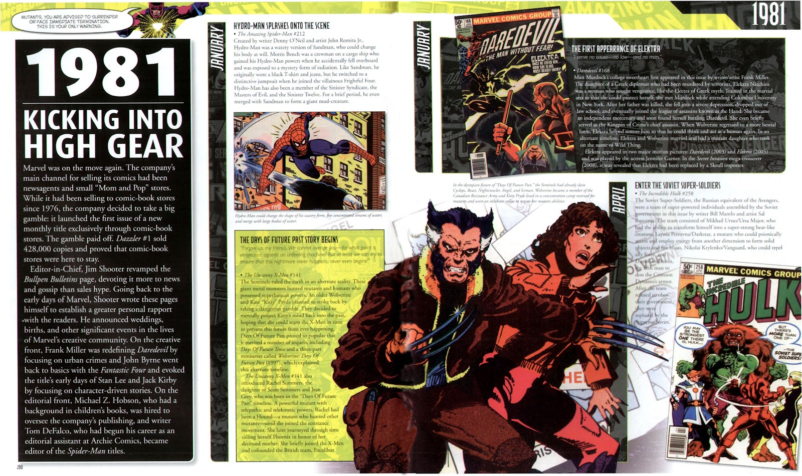 Read online Marvel Chronicle comic -  Issue # TPB (Part 3) - 1
