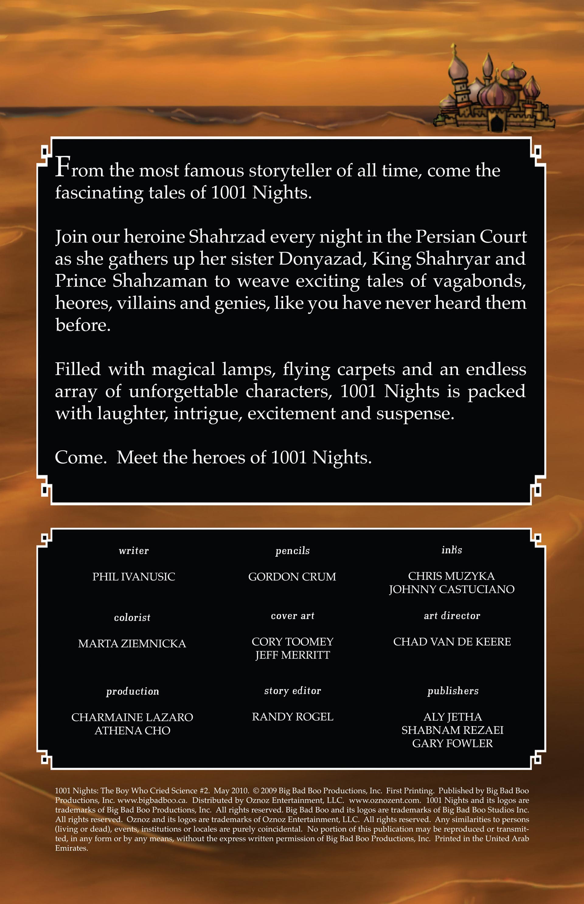1001 Nights 2 Page 2
