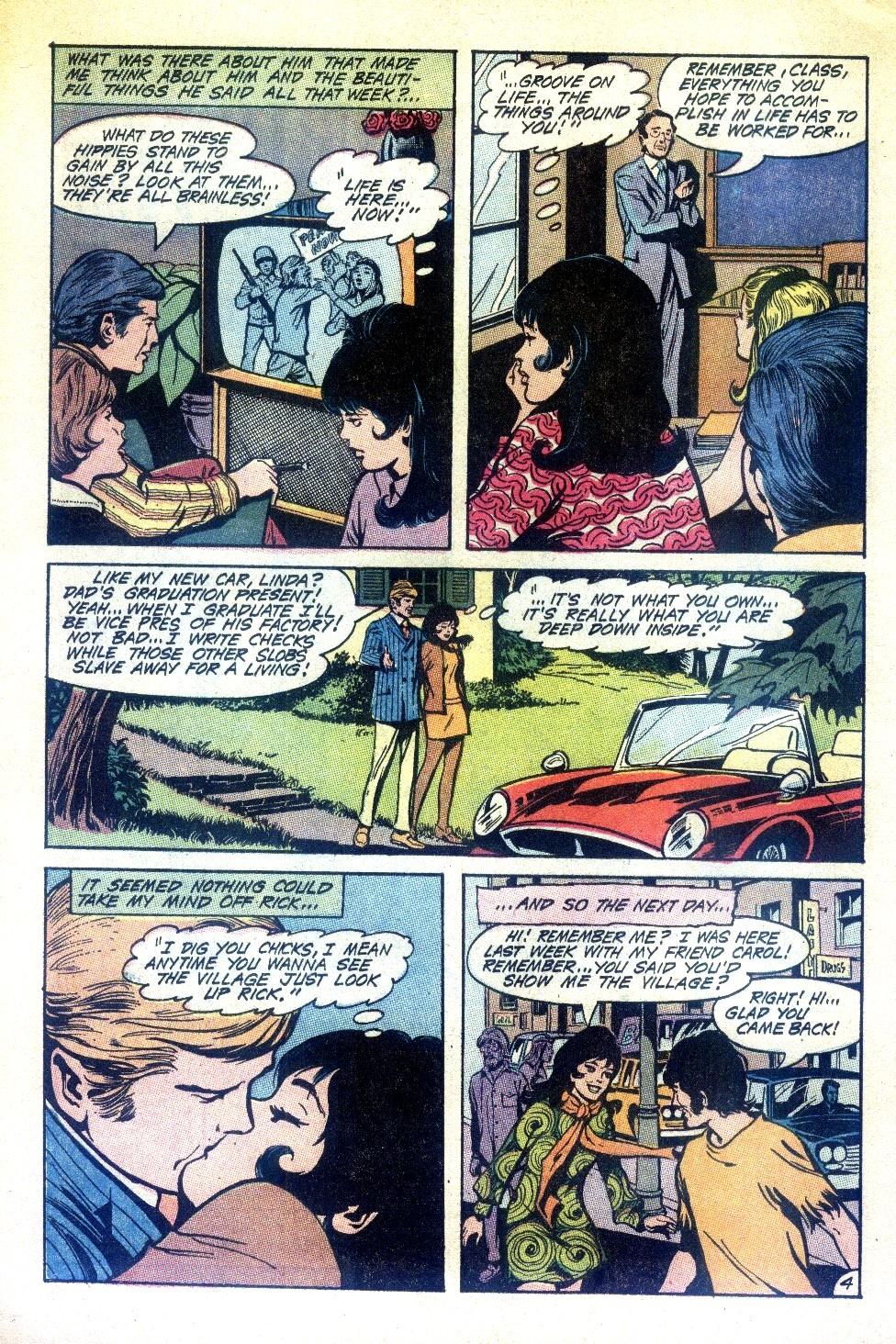 Read online Secret Hearts comic -  Issue #148 - 8