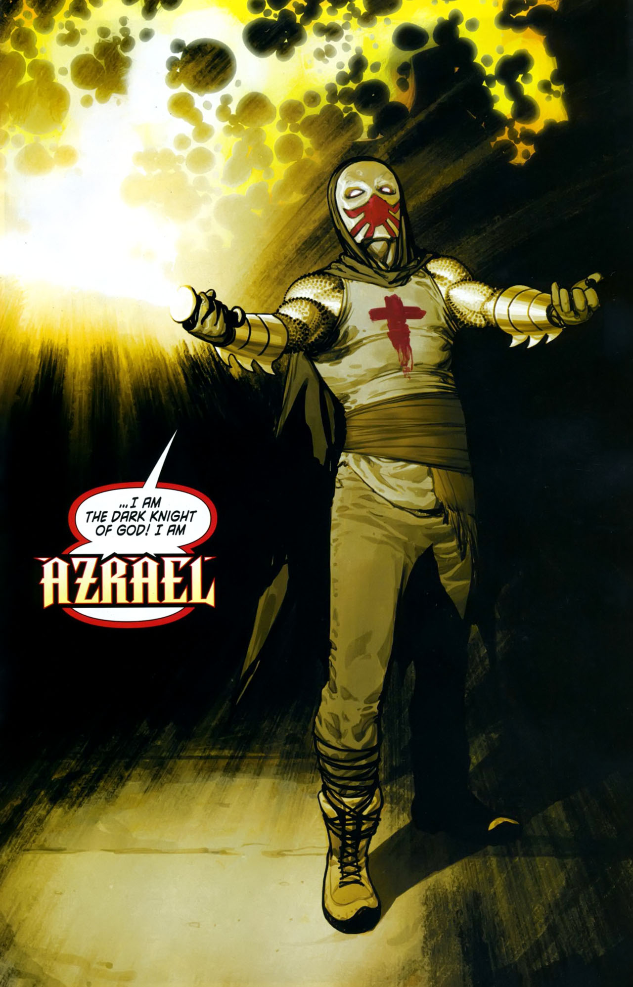 Read online Azrael: Death's Dark Knight comic -  Issue #1 - 26