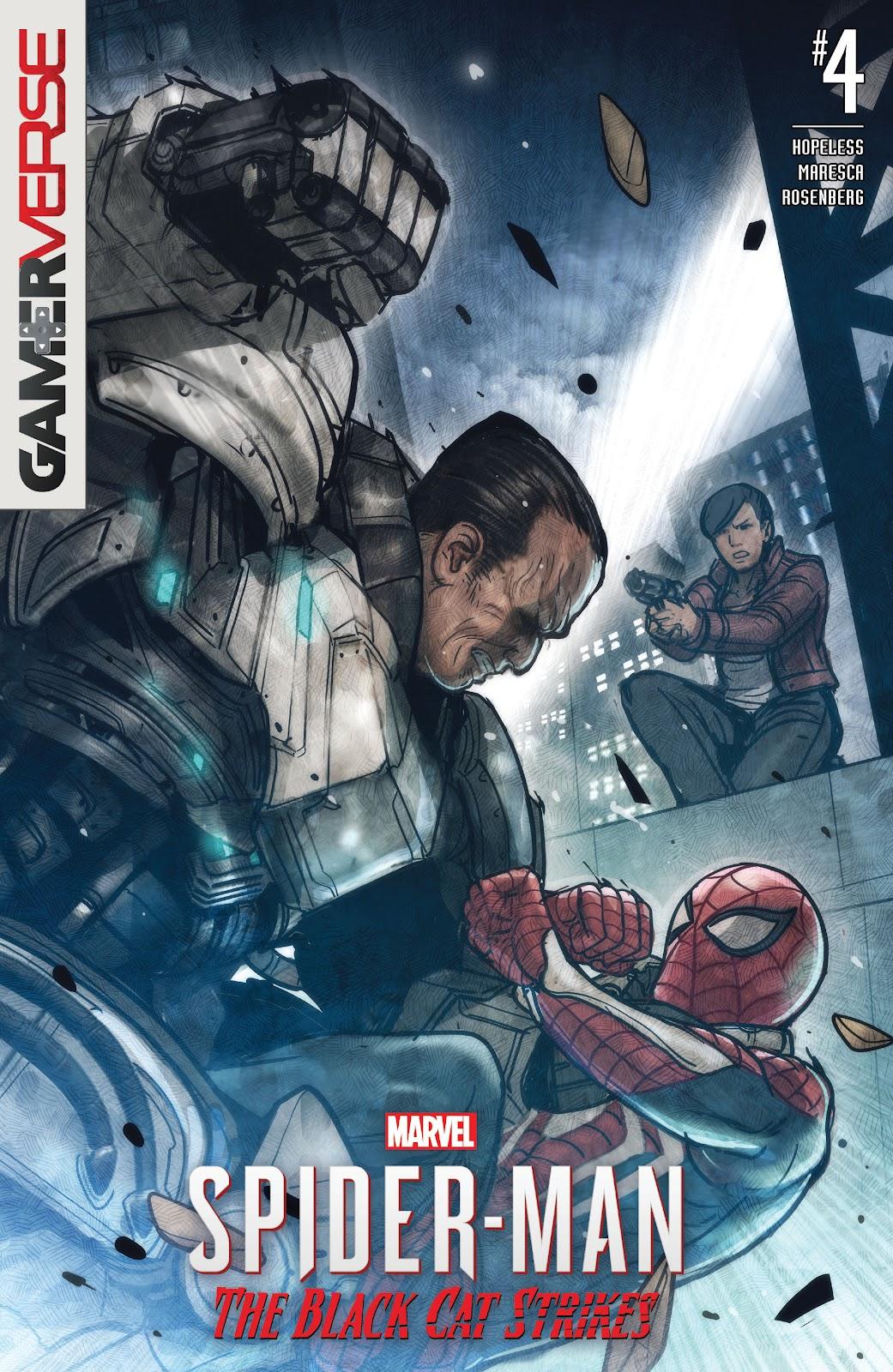 Marvel's Spider-Man: The Black Cat Strikes 4 Page 1