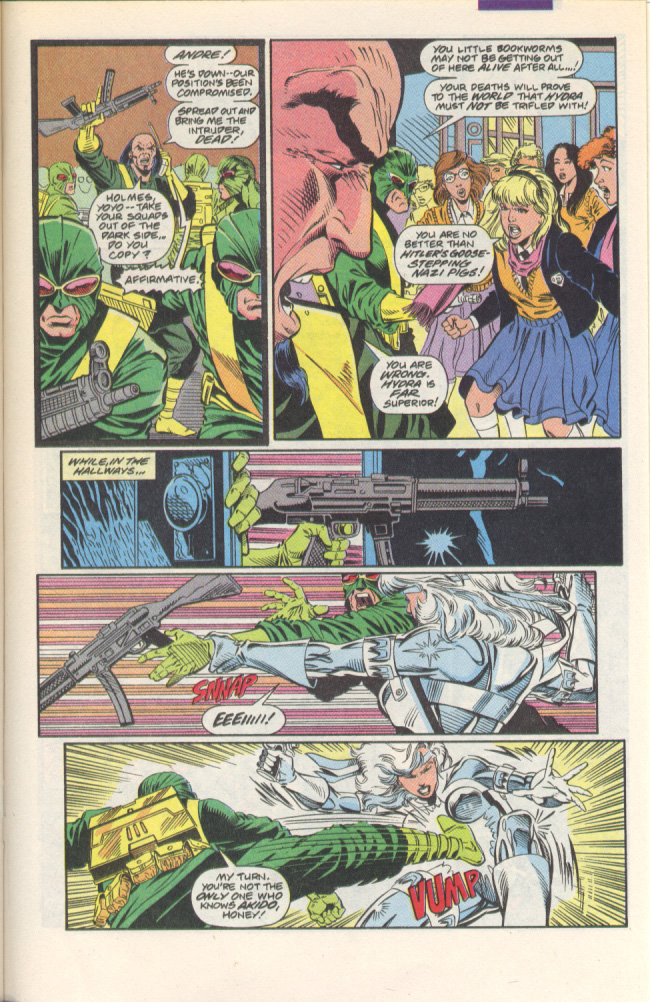 Read online Silver Sable and the Wild Pack comic -  Issue #1 - 16