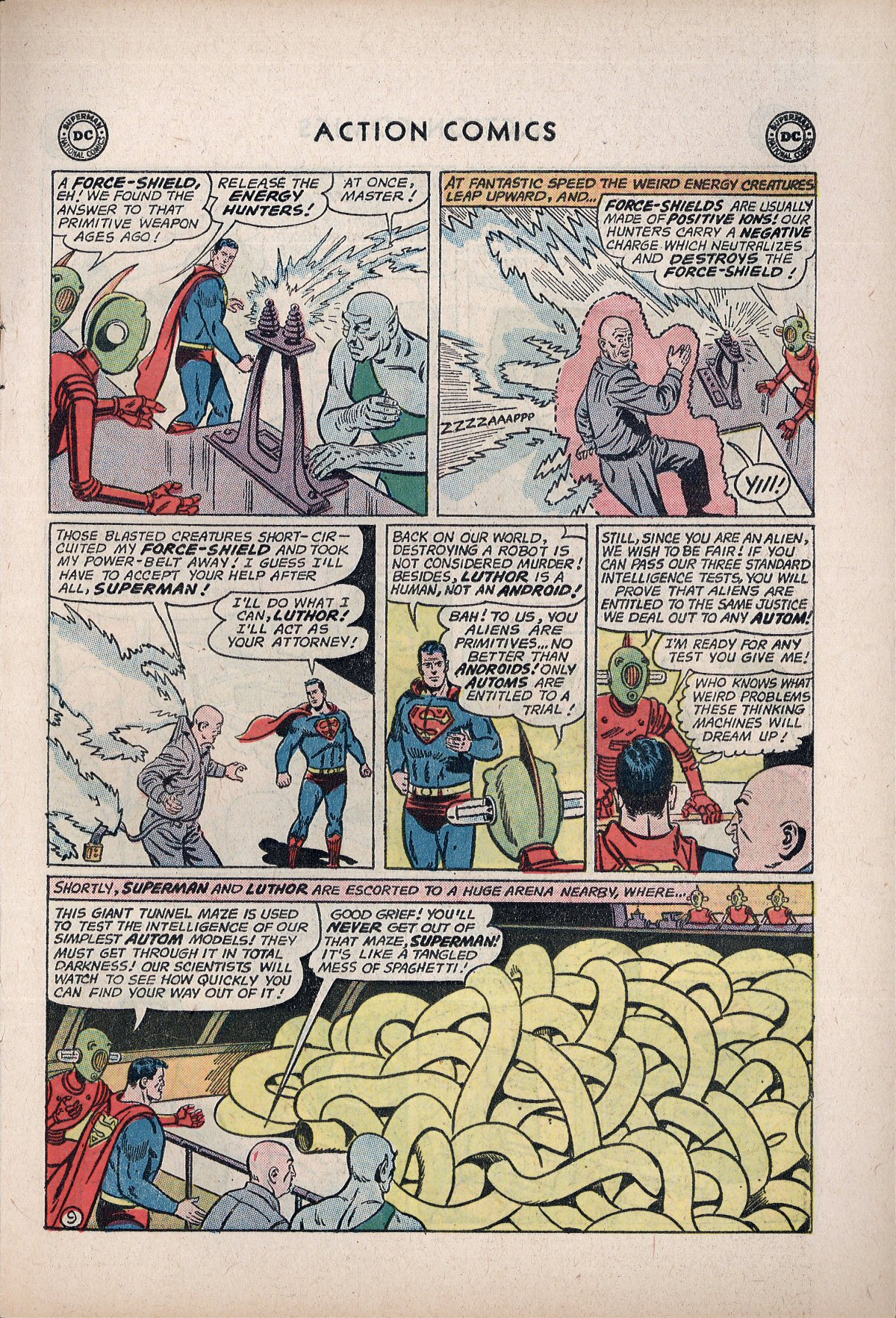 Read online Action Comics (1938) comic -  Issue #292 - 11