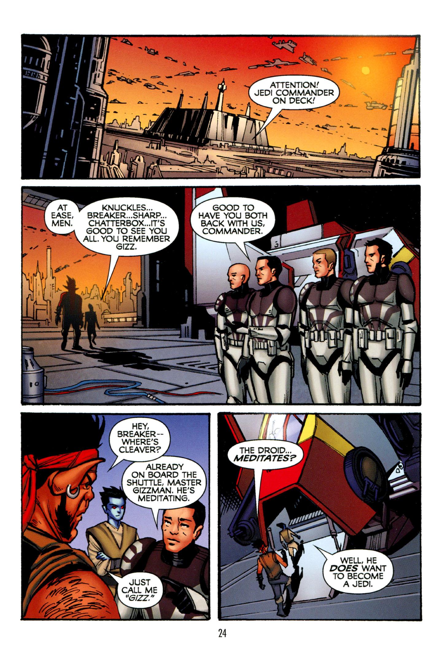 Read online Star Wars: The Clone Wars - Strange Allies comic -  Issue # Full - 25