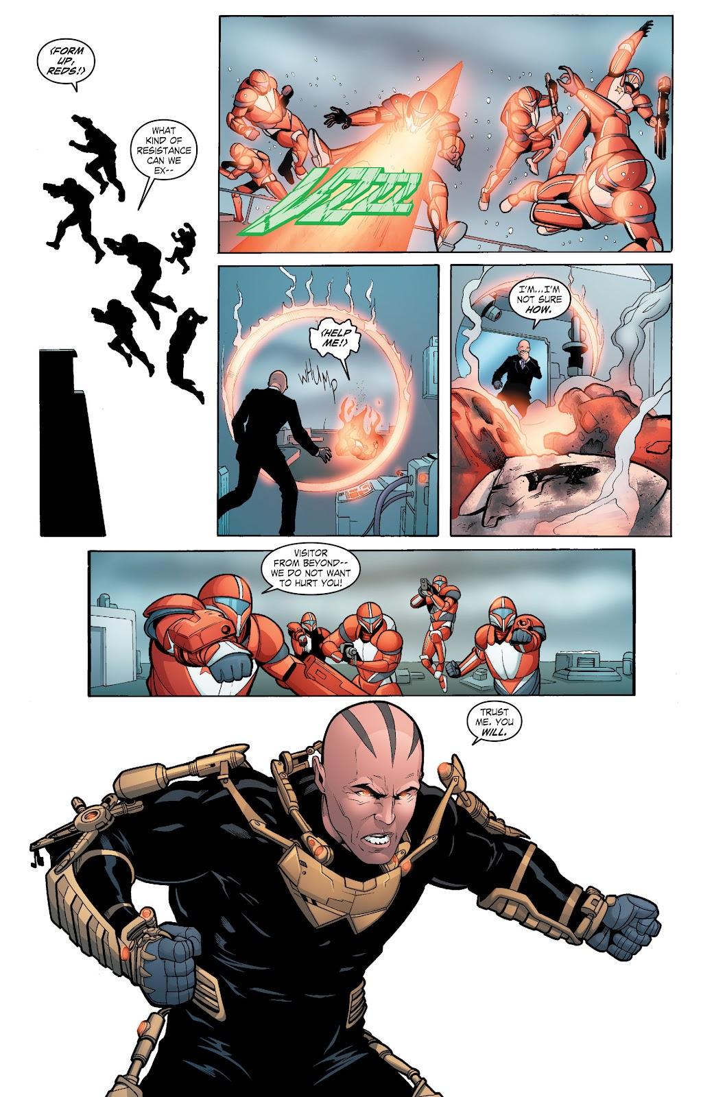Read online Smallville Season 11 [II] comic -  Issue # TPB 6 - 100