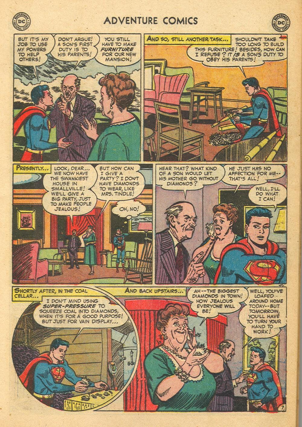 Read online Adventure Comics (1938) comic -  Issue #176 - 9