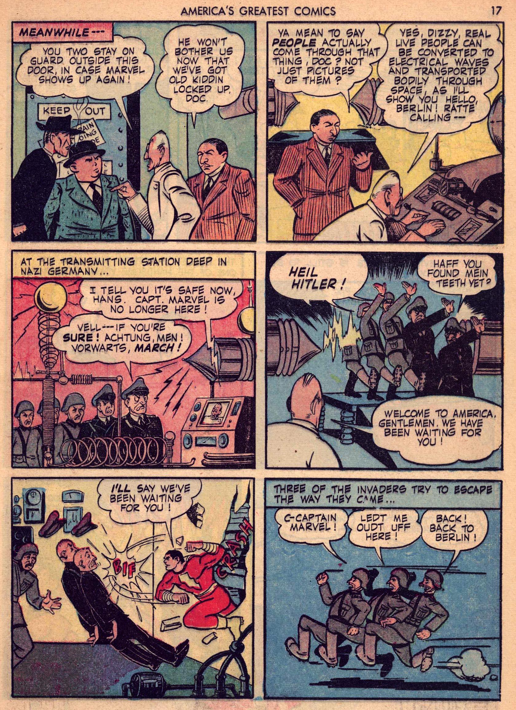 Read online America's Greatest Comics comic -  Issue #7 - 16