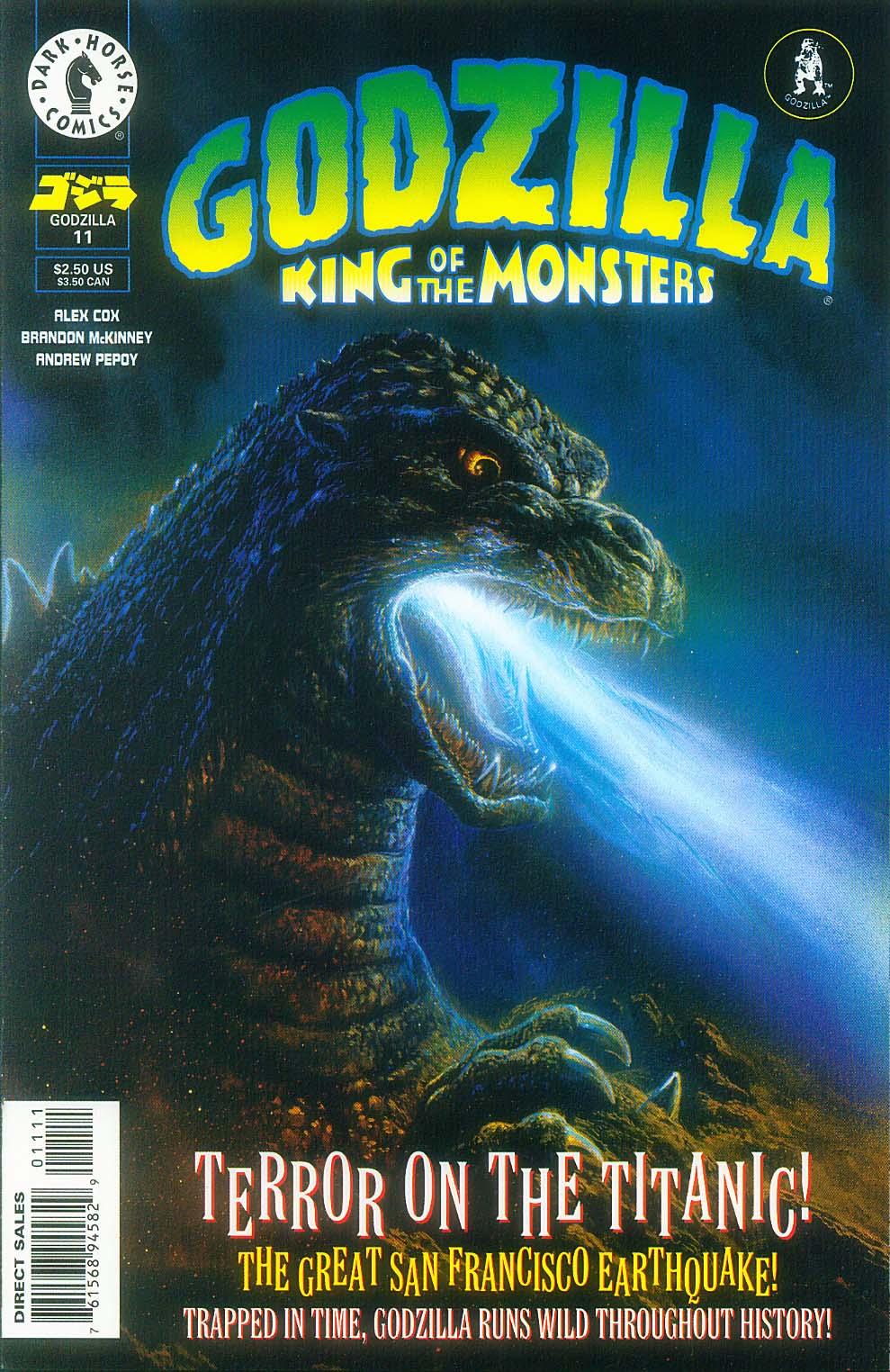 Godzilla (1995) Issue #11 #12 - English 2