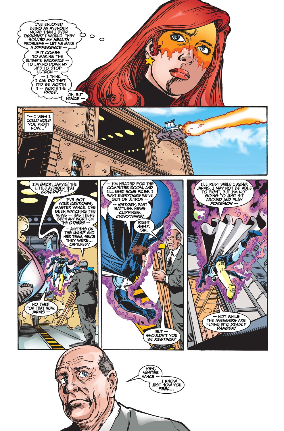 Read online Avengers (1998) comic -  Issue #20 - 21