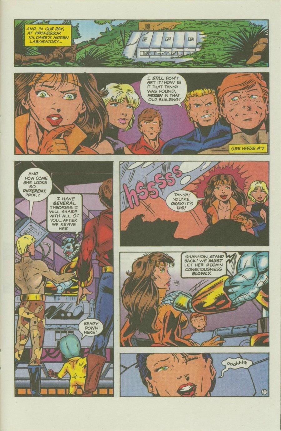 Read online Ex-Mutants comic -  Issue #8 - 26
