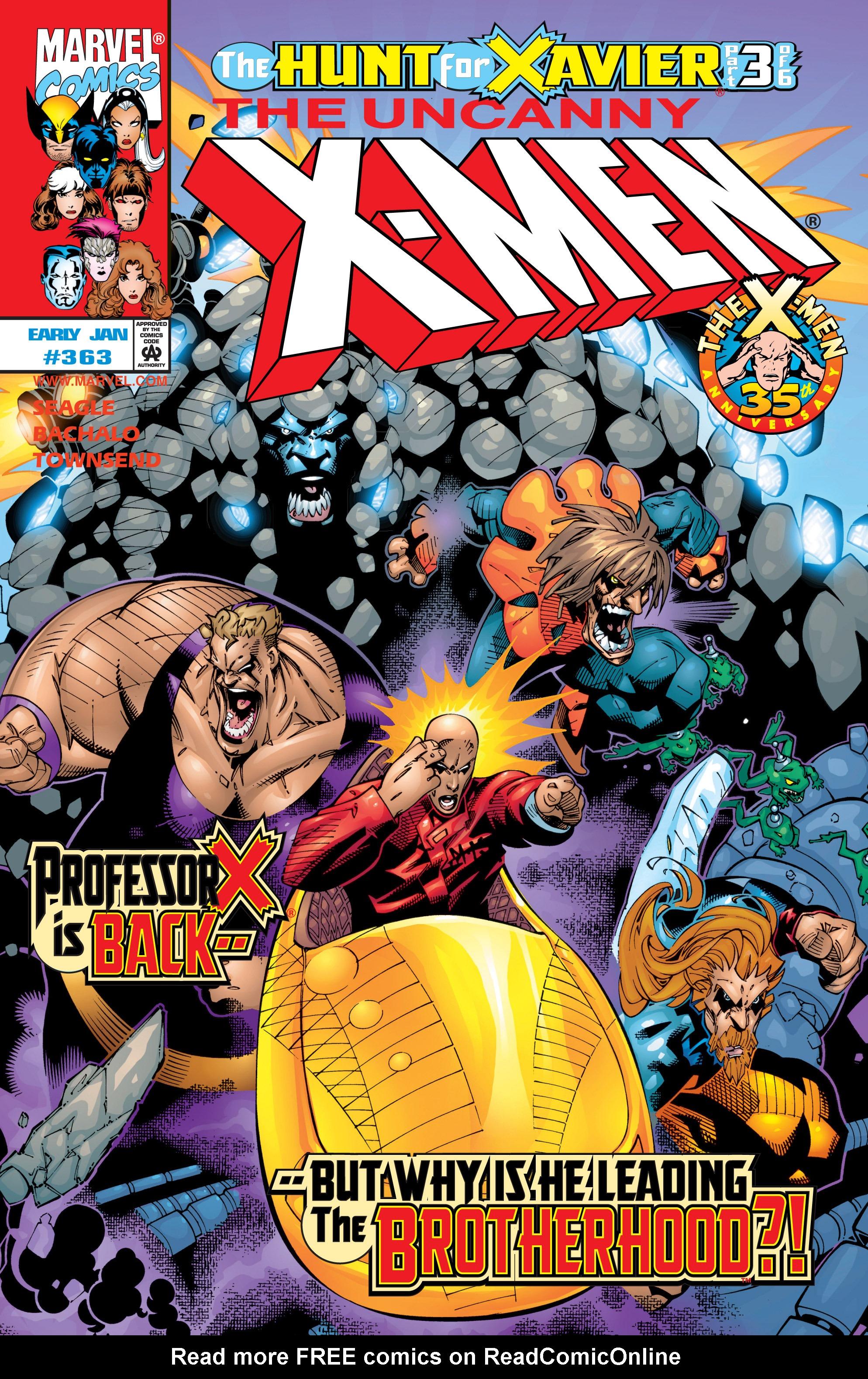 Uncanny X-Men (1963) 363 Page 1