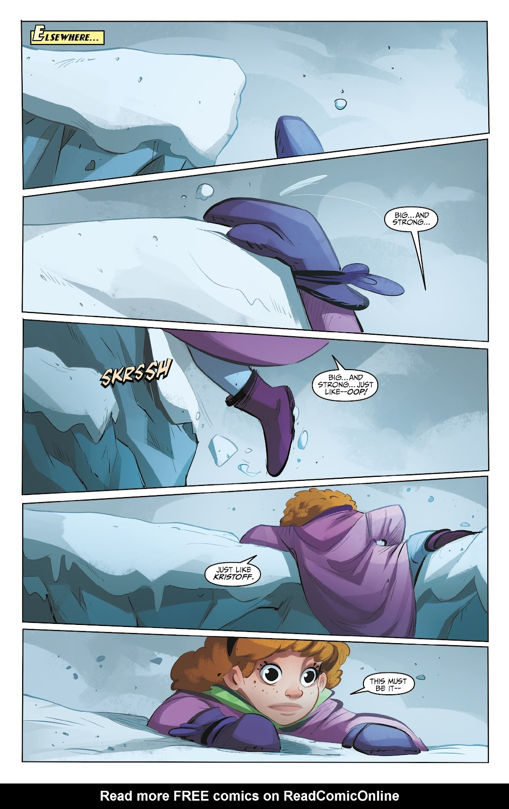 Read online Disney Frozen: The Hero Within comic -  Issue #2 - 21