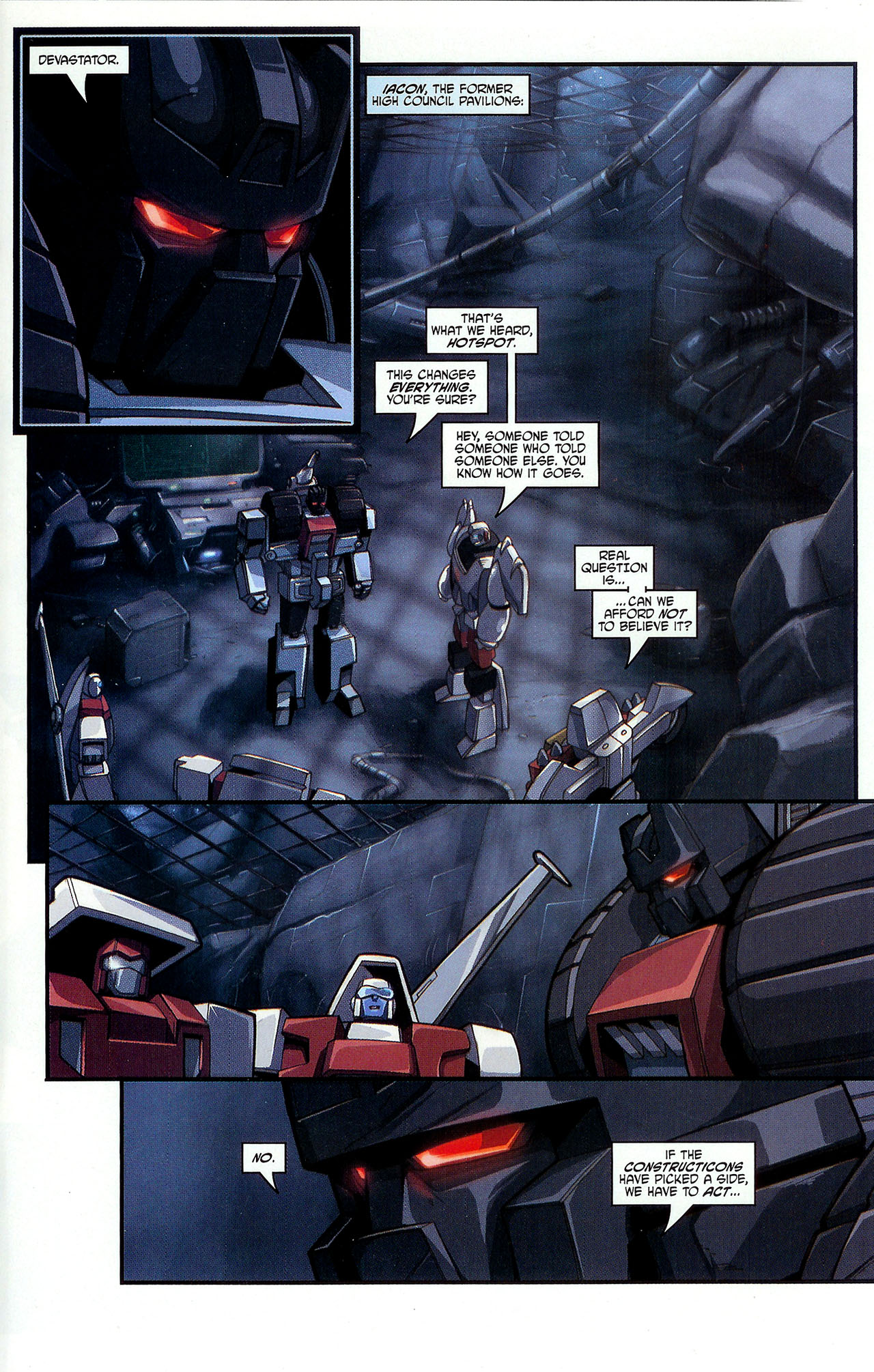 """Read online Transformers War Within: """"The Dark Ages"""" comic -  Issue #2 - 10"""