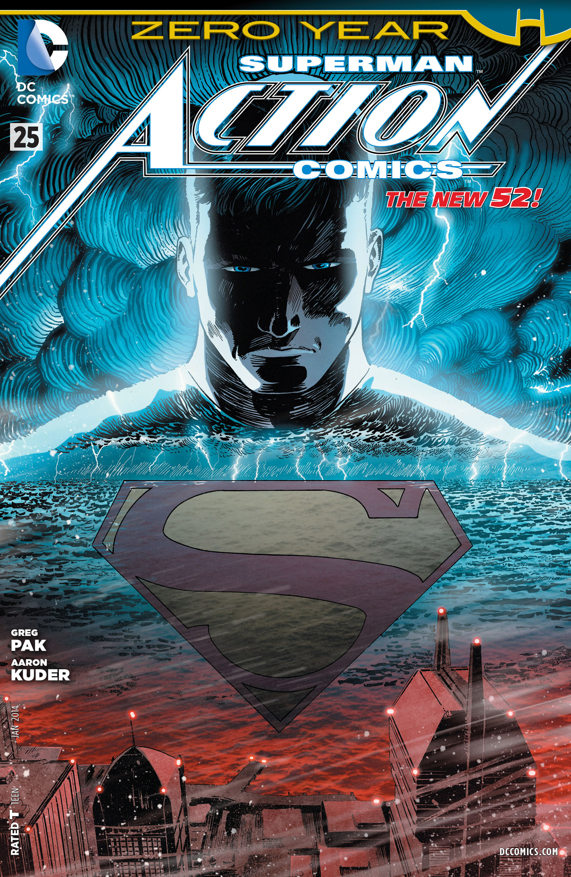 Read online Action Comics (2011) comic -  Issue #25 - 1