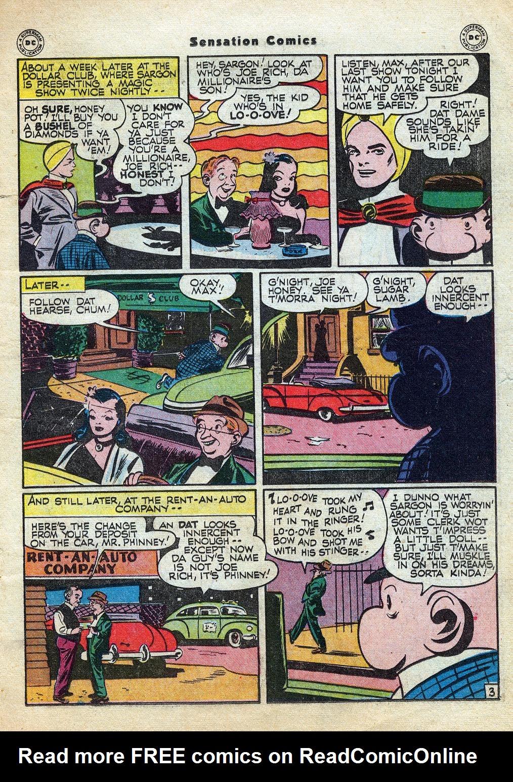 Read online Sensation (Mystery) Comics comic -  Issue #60 - 27