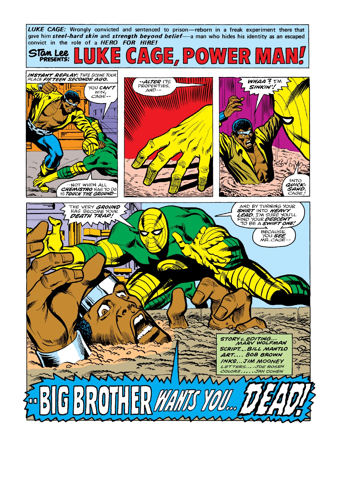 Read online Marvel Masterworks: Luke Cage, Power Man comic -  Issue # TPB 3 (Part 2) - 38