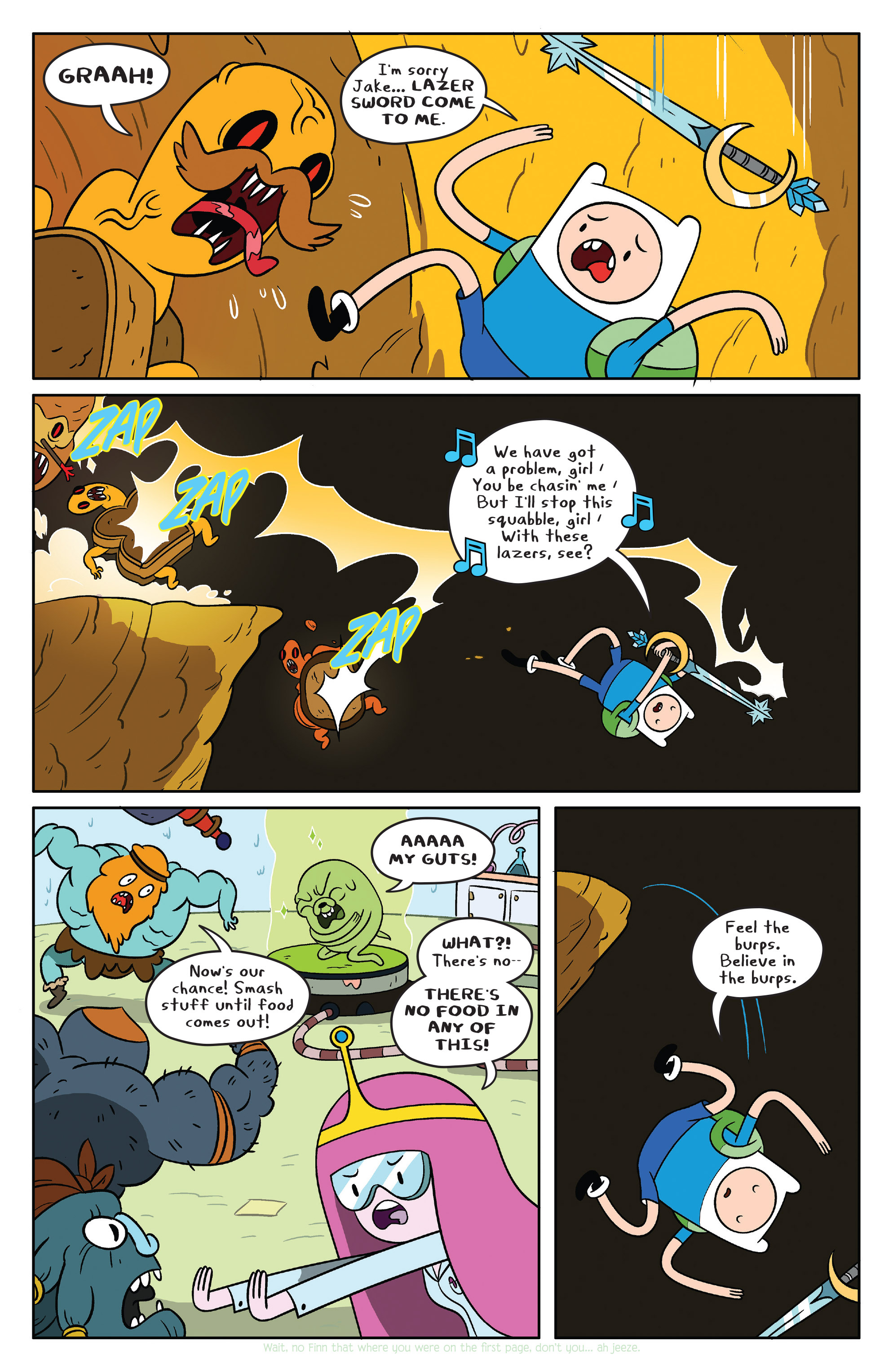 Read online Adventure Time comic -  Issue #38 - 15