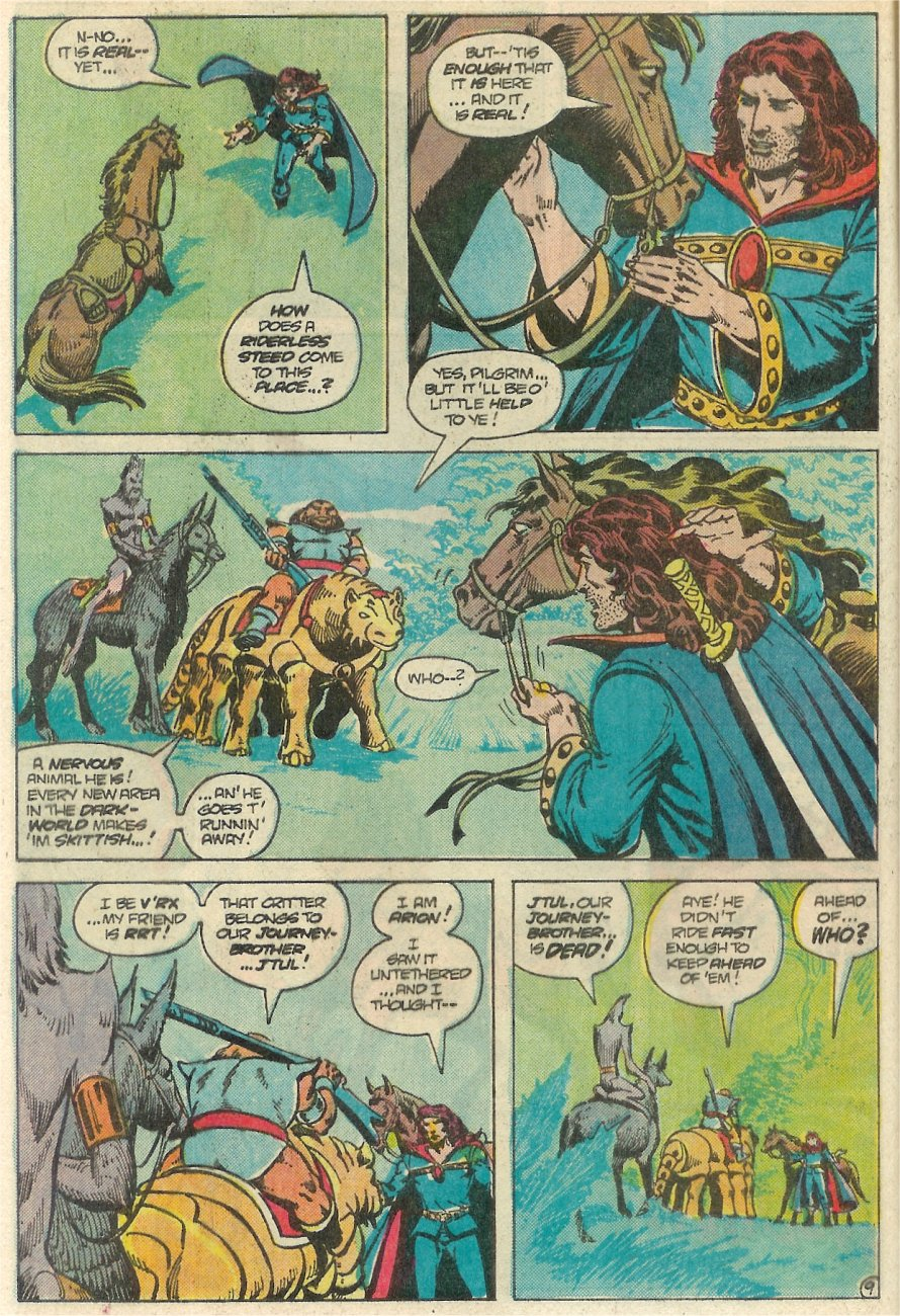 Read online Arion, Lord of Atlantis comic -  Issue #25 - 10