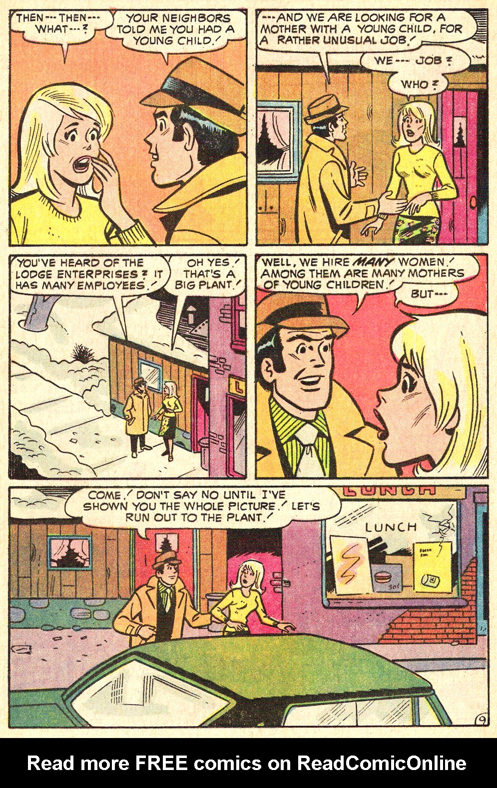 Read online Archie's Girls Betty and Veronica comic -  Issue #196 - 13