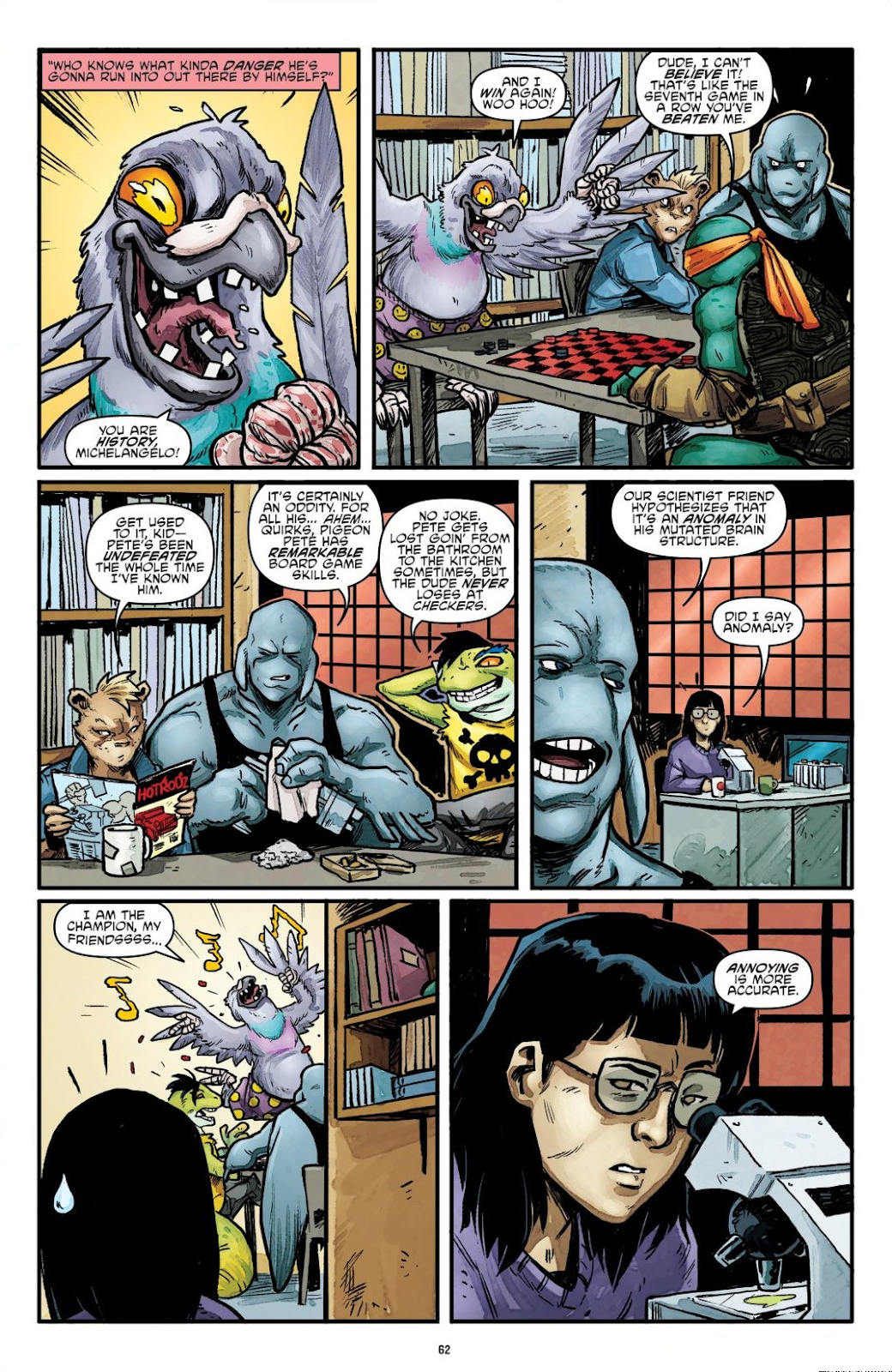 Read online Teenage Mutant Ninja Turtles: The IDW Collection comic -  Issue # TPB 7 (Part 1) - 61