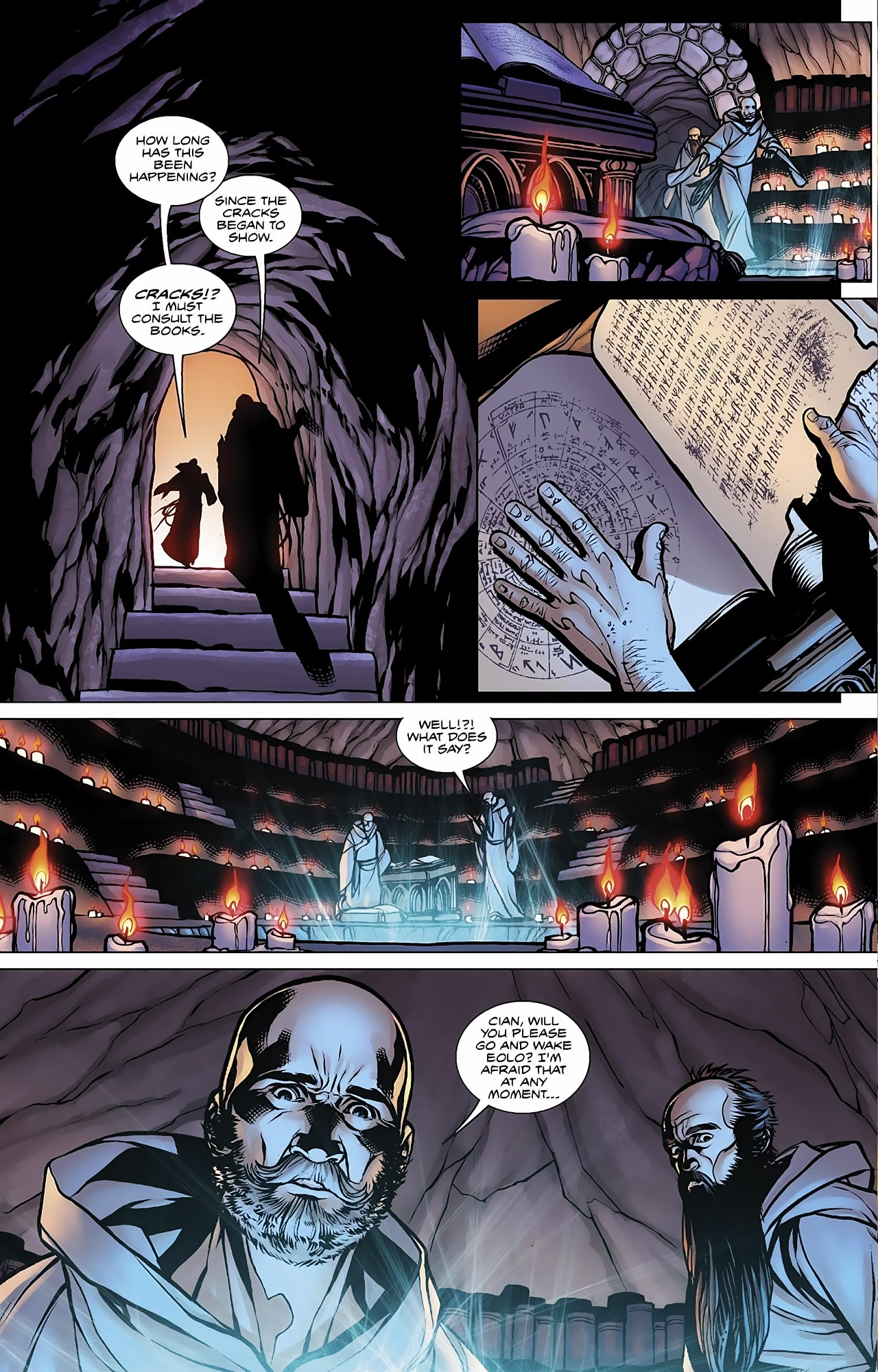 Read online Magus comic -  Issue #3 - 6