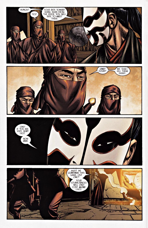 Read online Silken Ghost comic -  Issue #2 - 5
