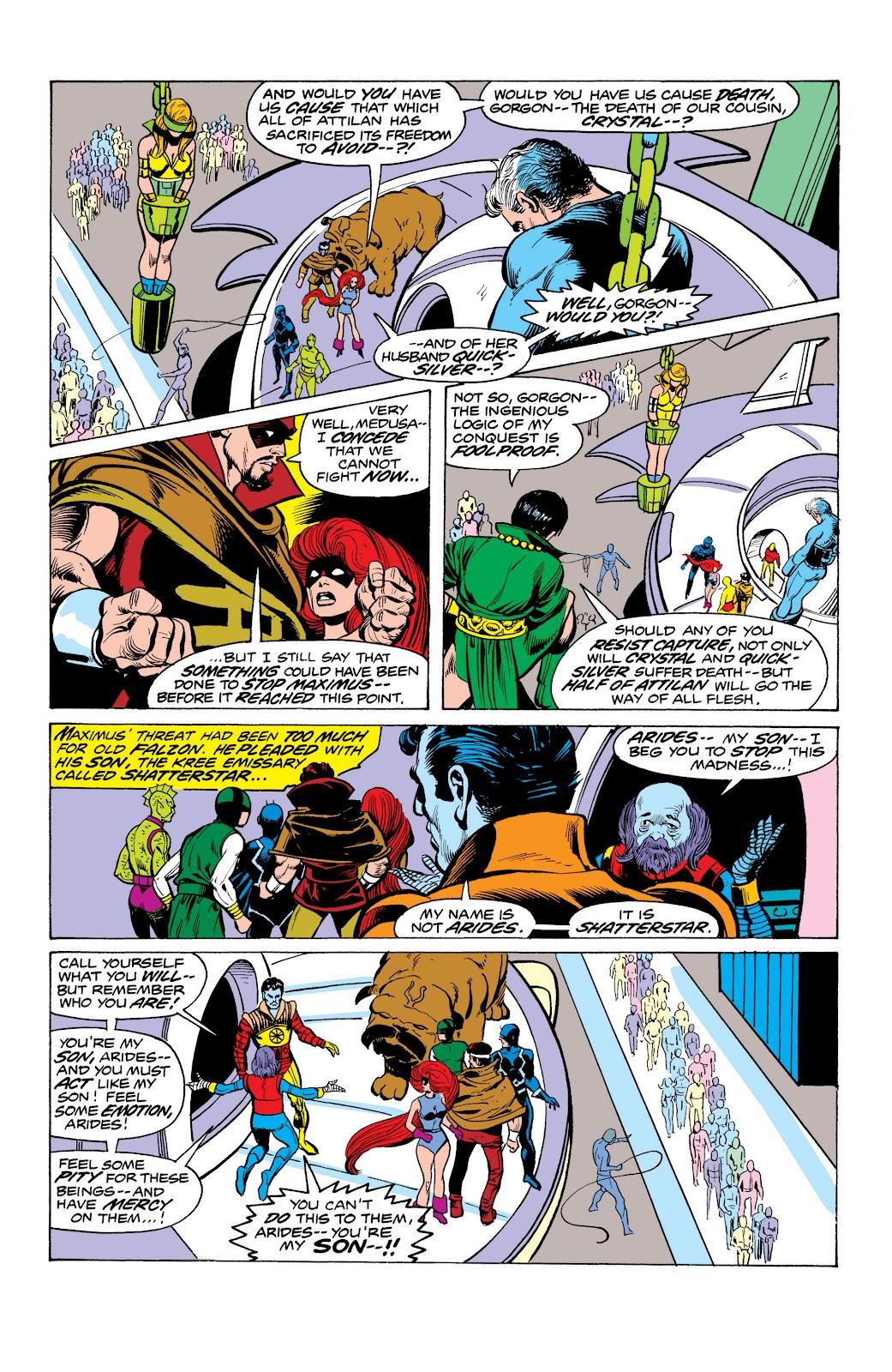 Read online Marvel Masterworks: The Inhumans comic -  Issue # TPB 2 (Part 1) - 86
