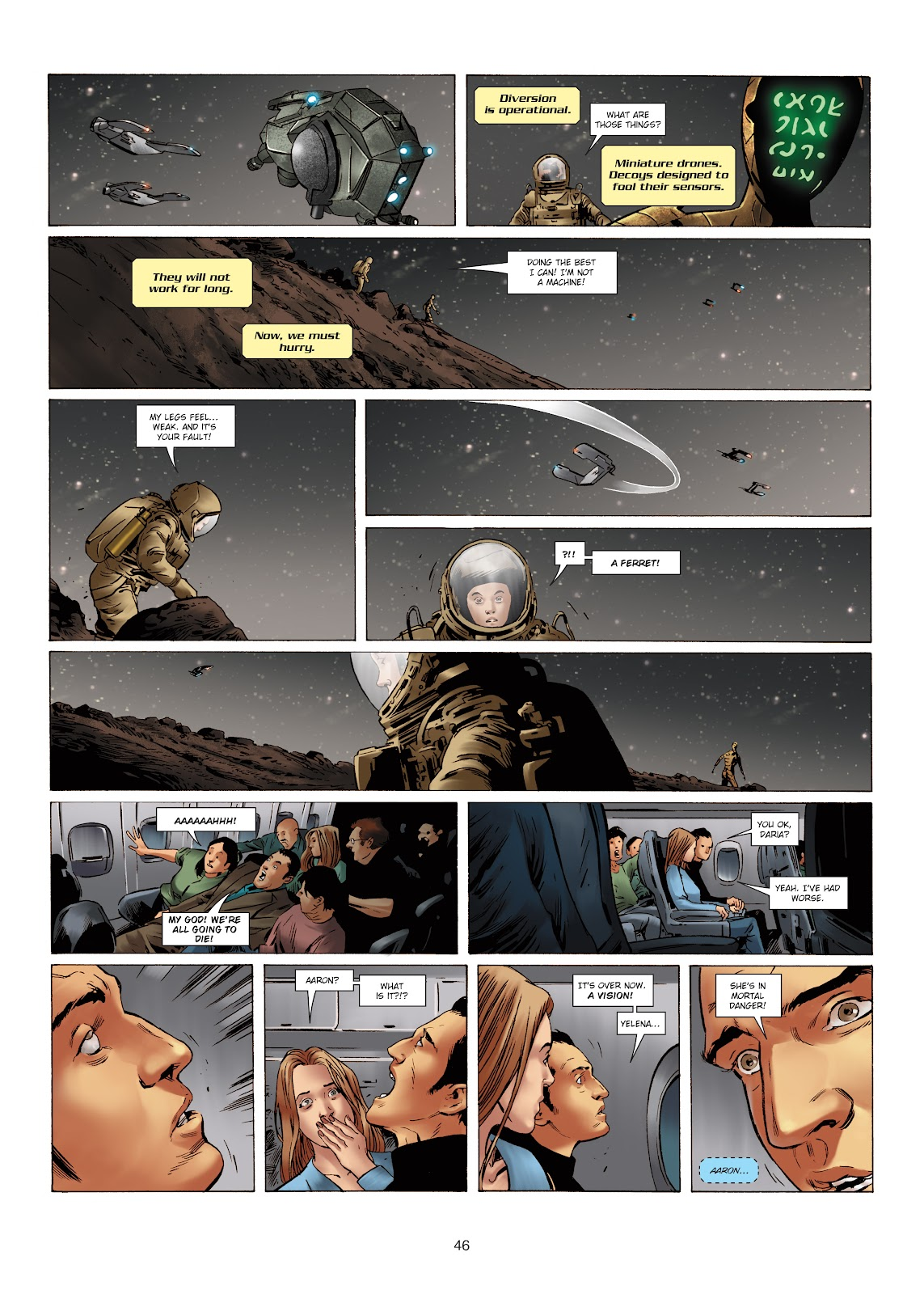Read online Olympus Mons Vol. 1: Anomaly One comic -  Issue #5 - 41