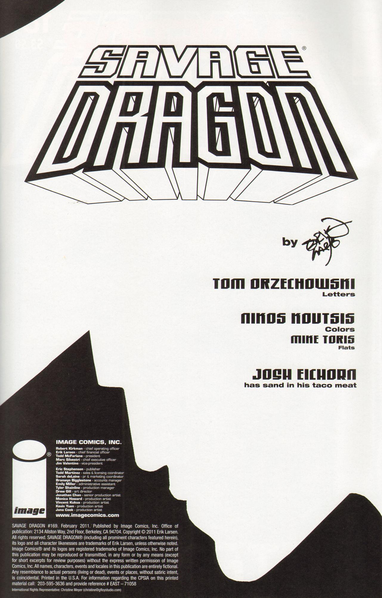 The Savage Dragon (1993) 169 Page 2