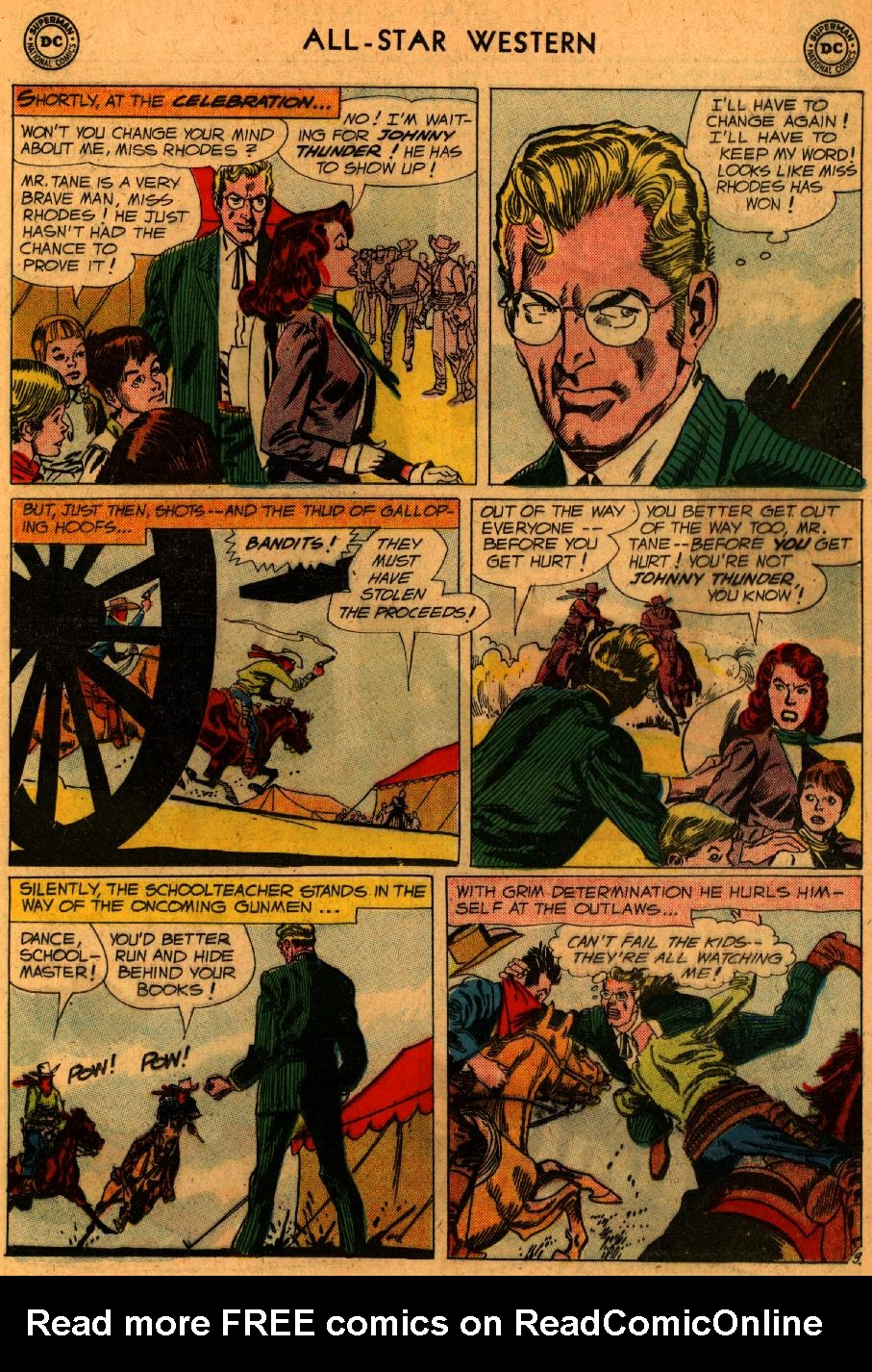 Read online All-Star Western (1951) comic -  Issue #107 - 11