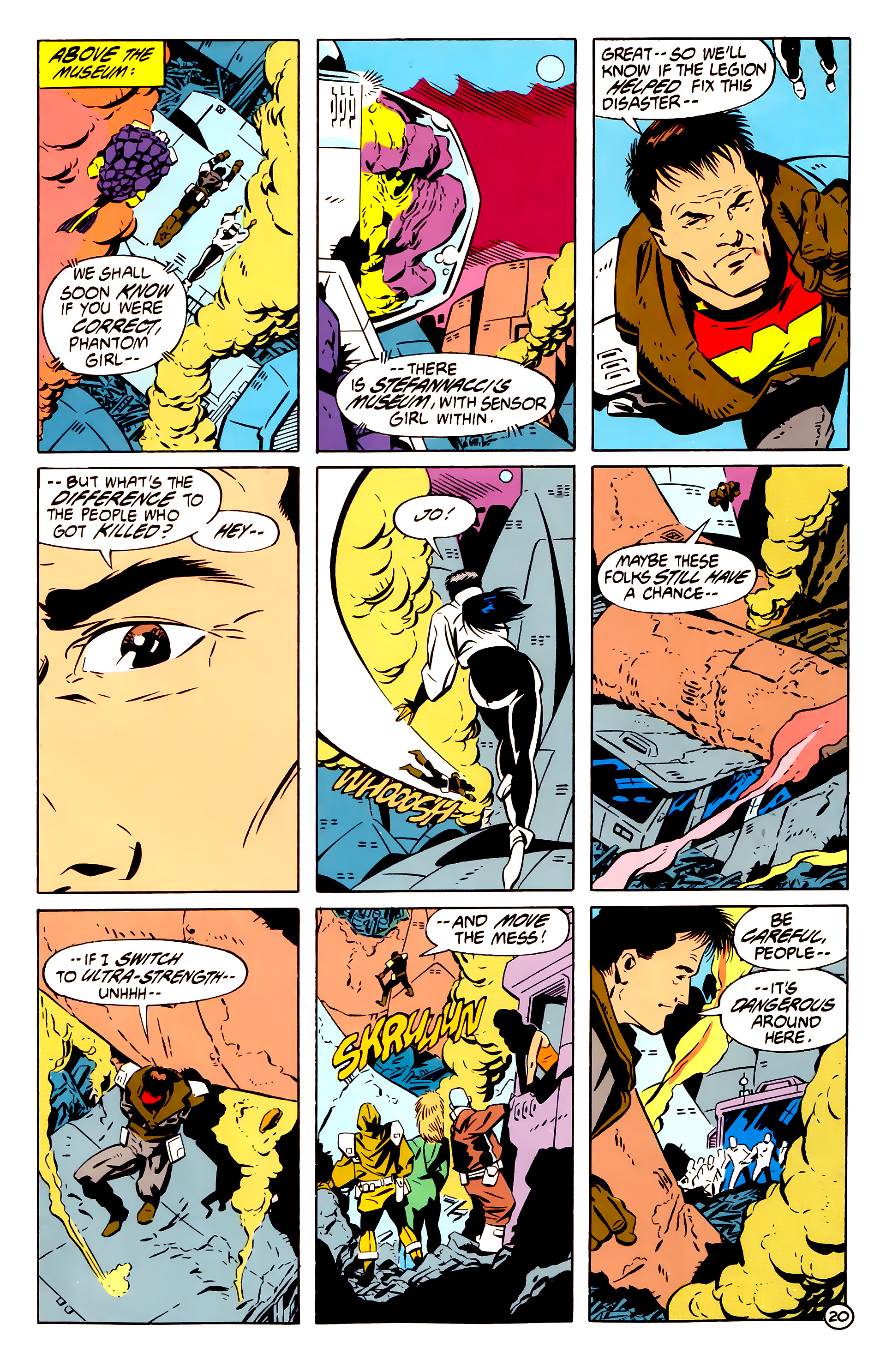 Legion of Super-Heroes (1984) 61 Page 20